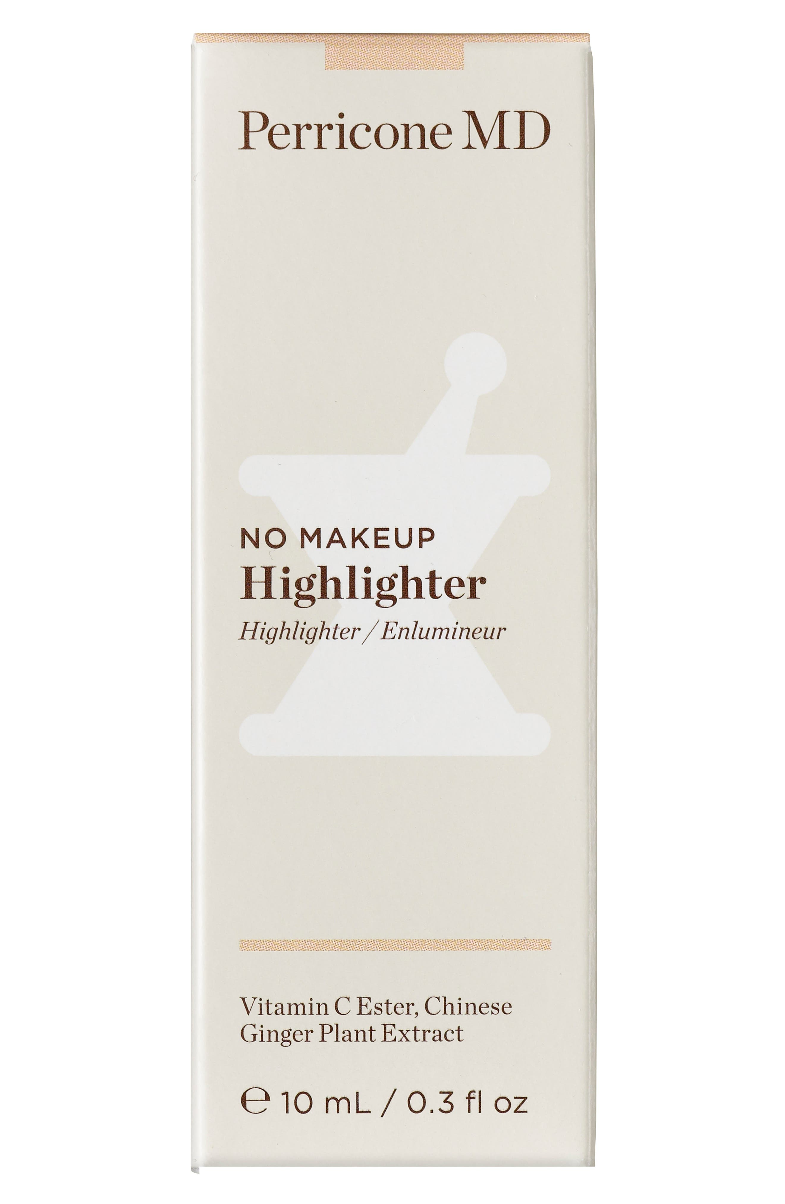 PERRICONE MD, No Makeup Highlighter, Alternate thumbnail 3, color, 000