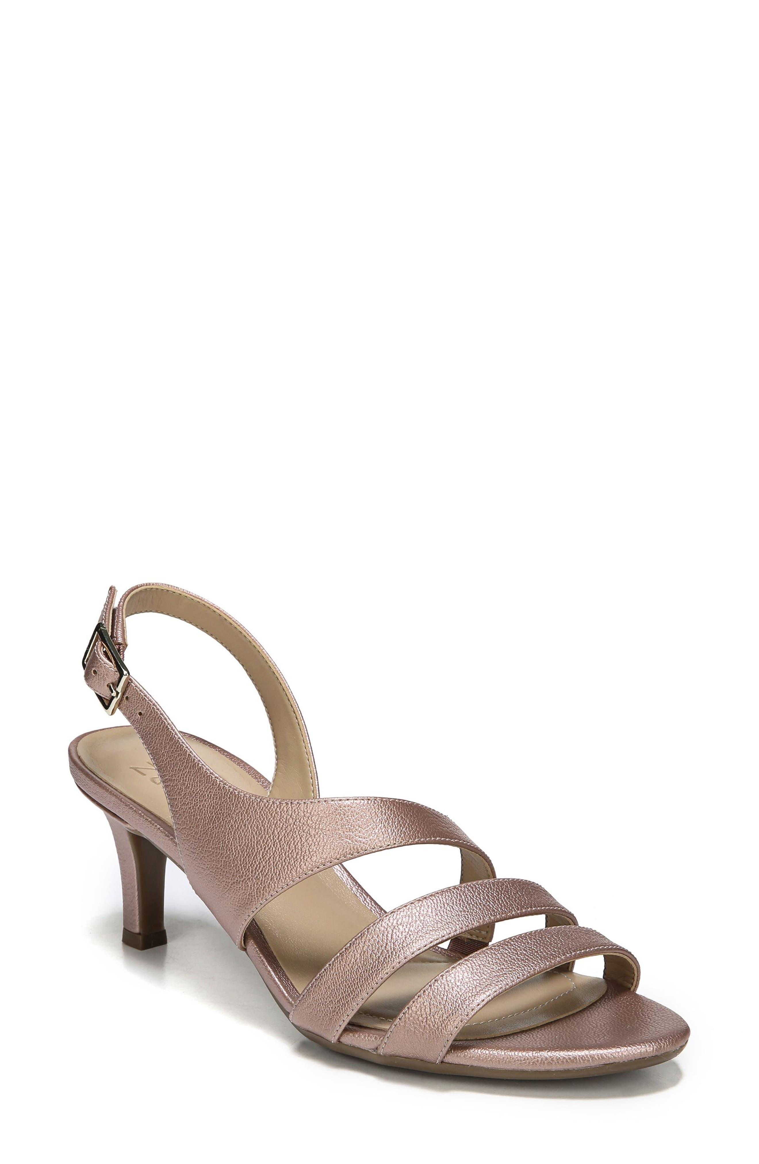 NATURALIZER Taimi Sandal, Main, color, ROSE GOLD FABRIC