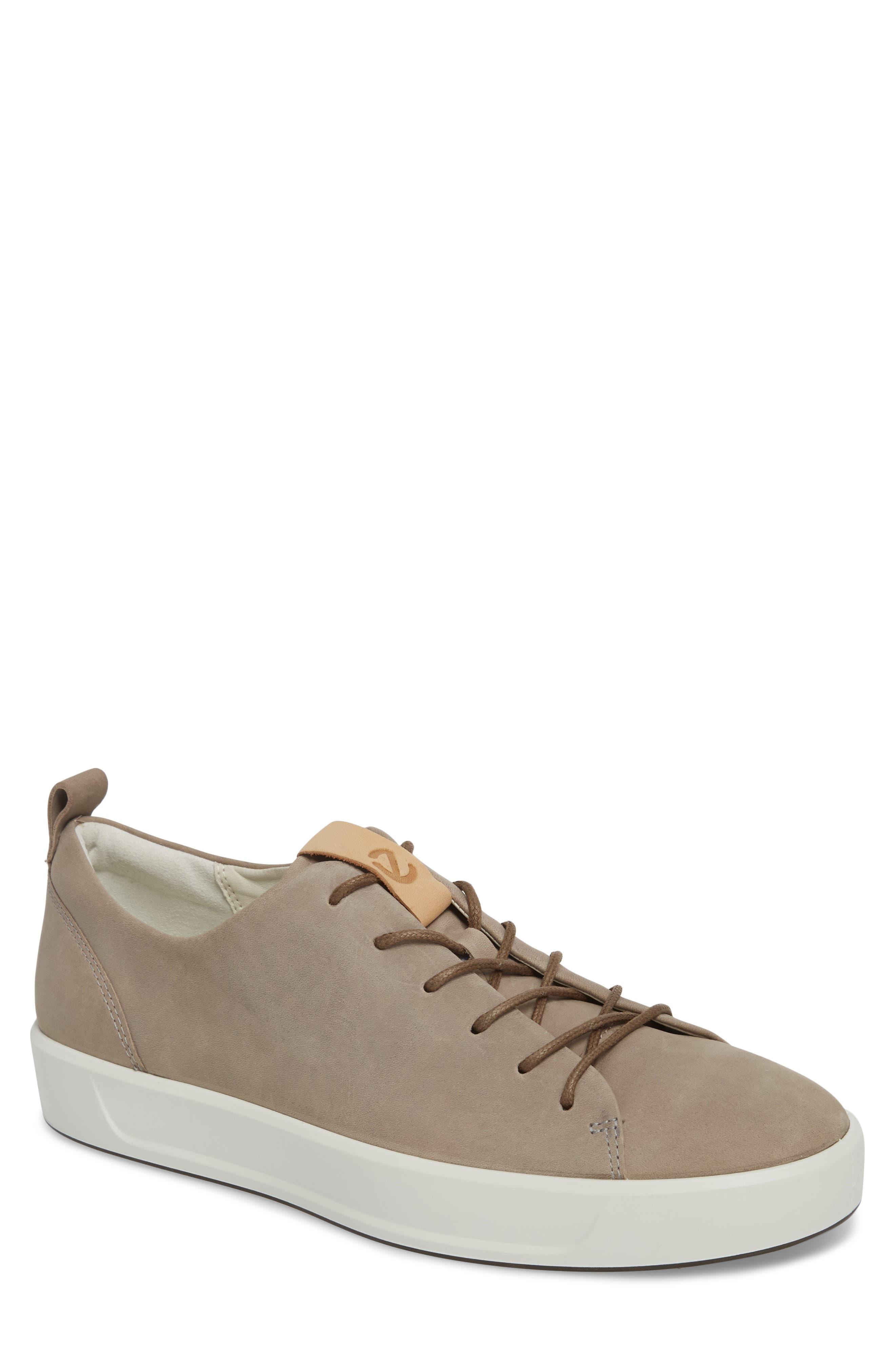 ECCO, Soft 8 Sneaker, Main thumbnail 1, color, MOONROCK
