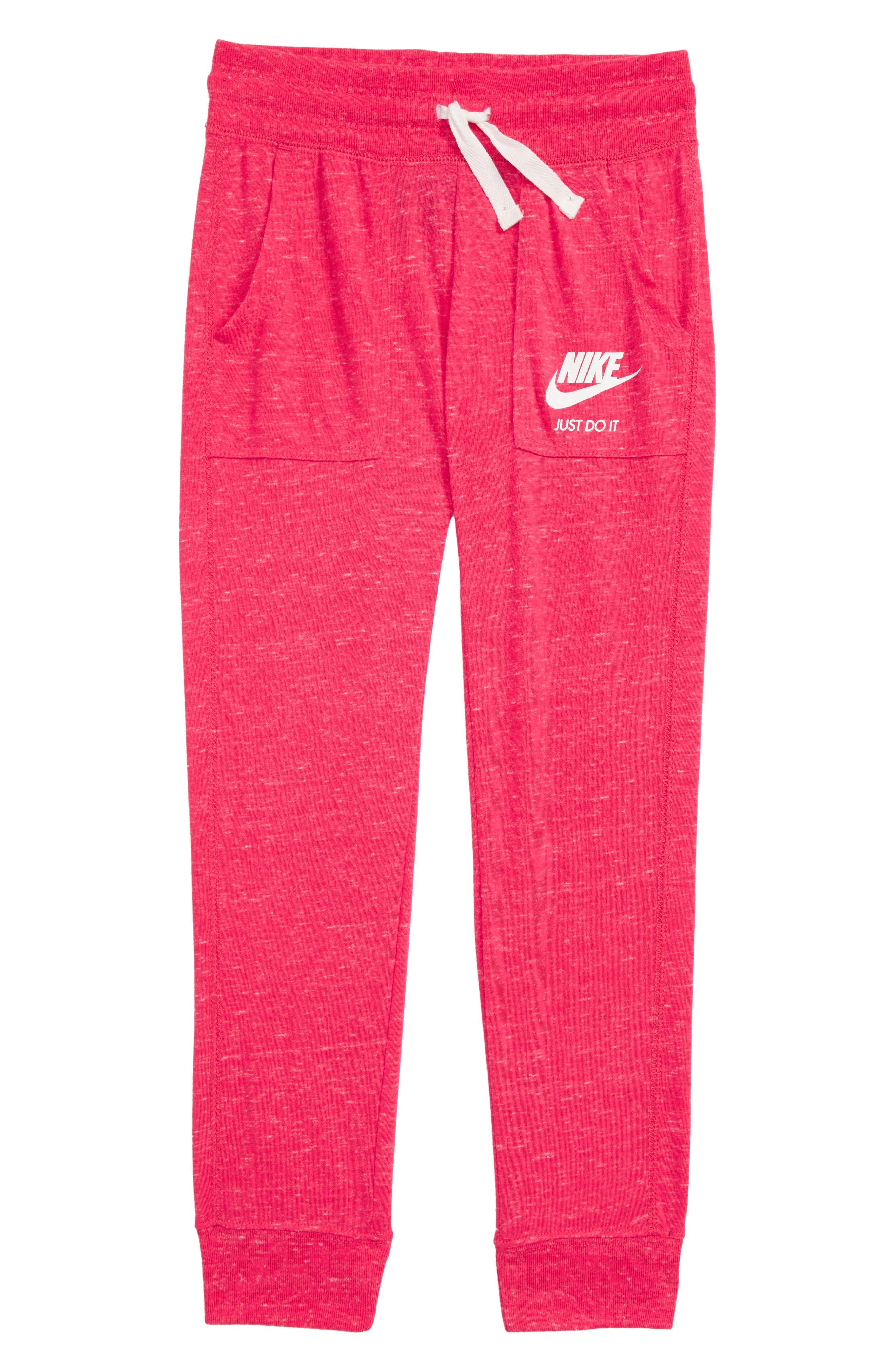 NIKE Gym Vintage Pants, Main, color, 672