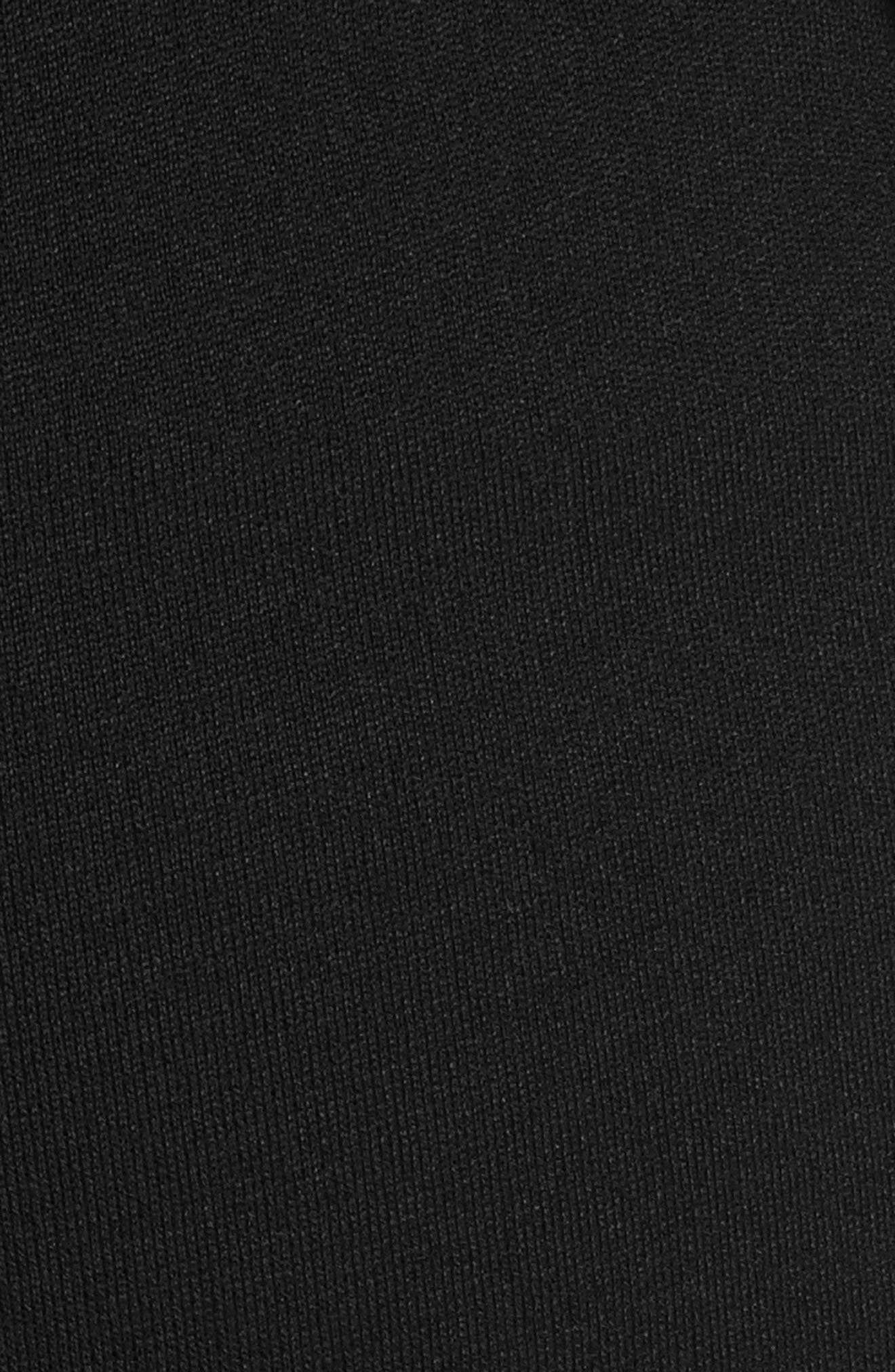 ST. JOHN COLLECTION, 'Kasia' Bootcut Milano Knit Pants, Alternate thumbnail 5, color, CAVIAR