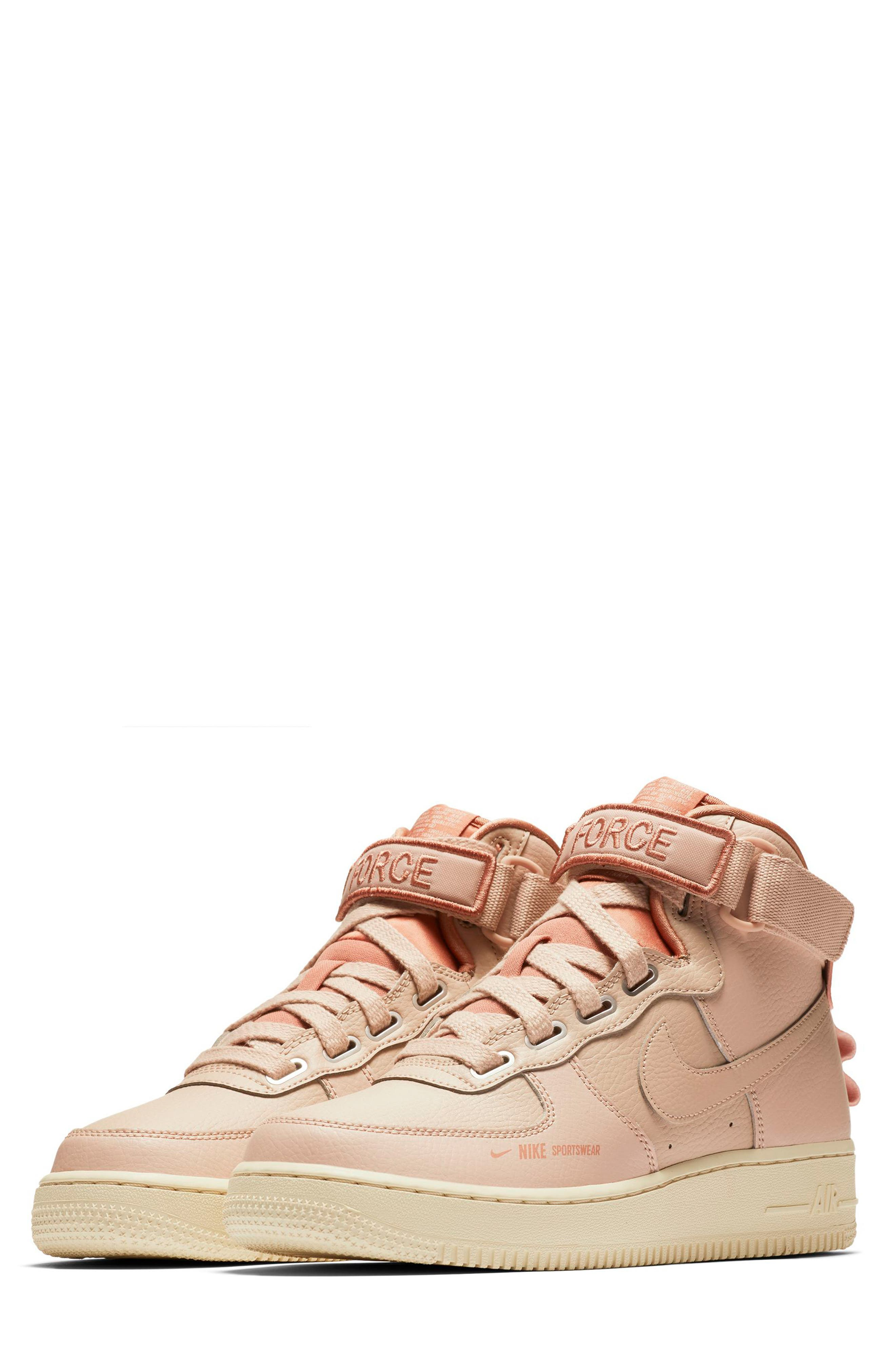 NIKE, Air Force 1 High Utility Sneaker, Main thumbnail 1, color, 200