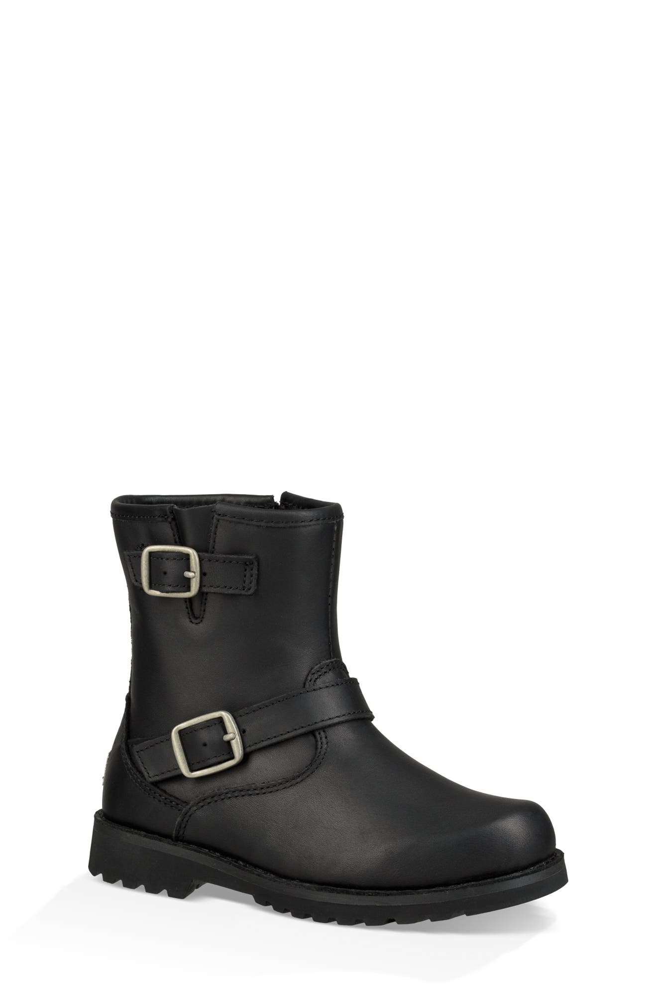 UGG<SUP>®</SUP> Harwell Boot, Main, color, BLACK