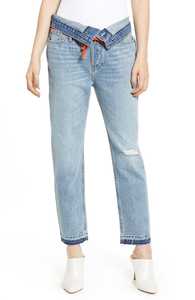 Hudson Jeans JESSI CROP BOYFRIEND JEANS