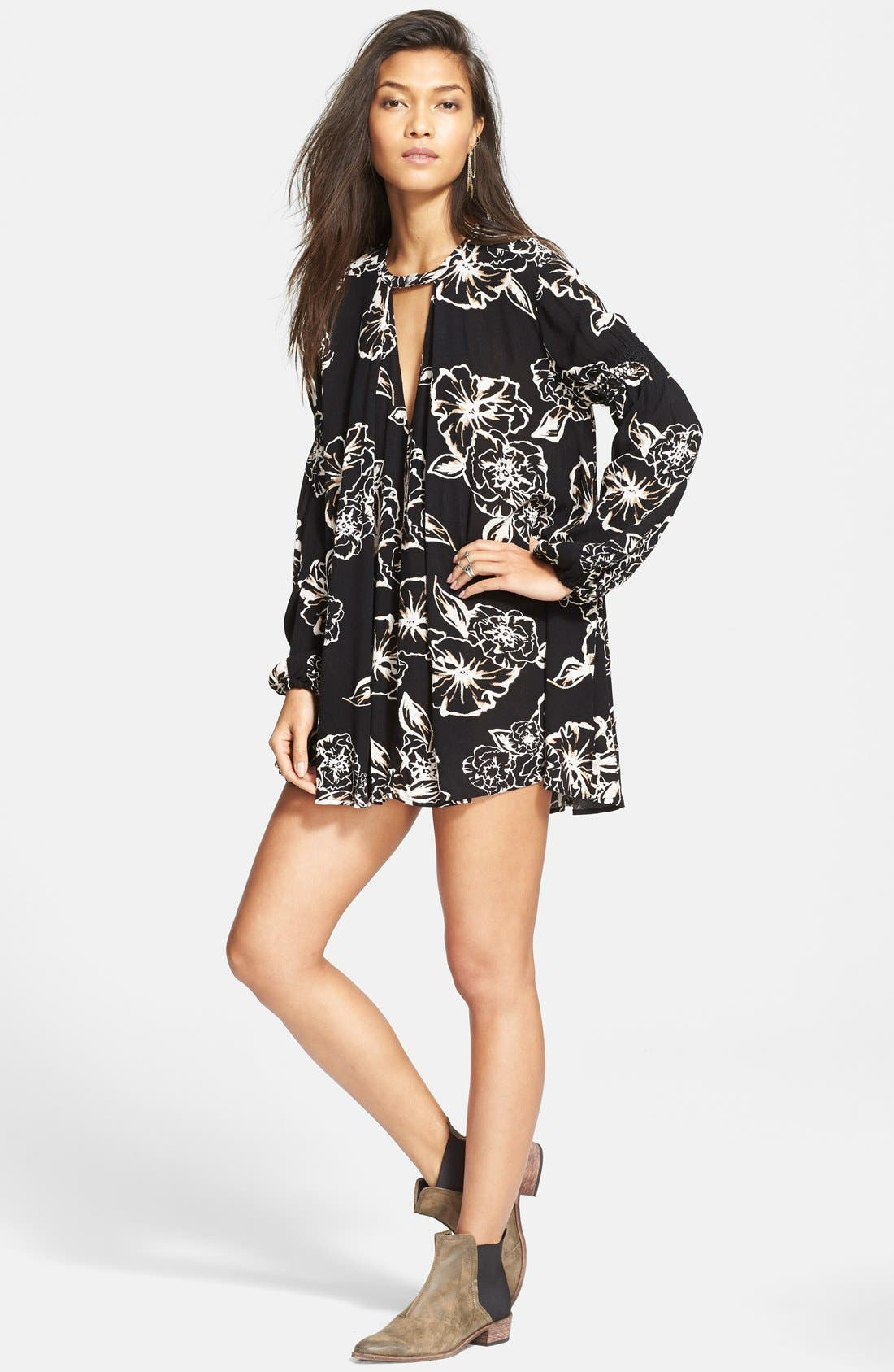 FREE PEOPLE 'Snap Out Of It' Swing Top, Main, color, 177