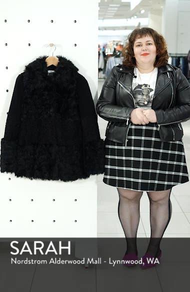 Faux Fur Patchwork Coat, sales video thumbnail