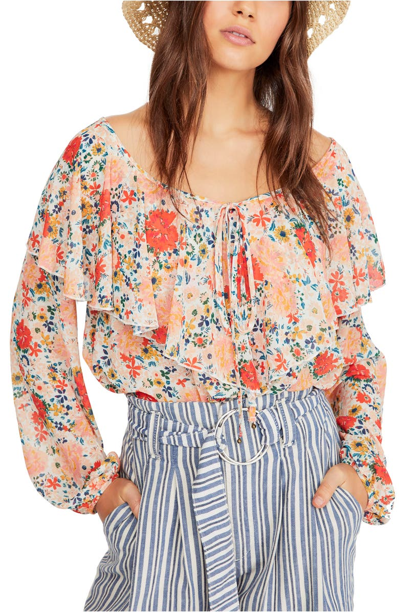 Free People Suits SAY IT TO ME BODYSUIT