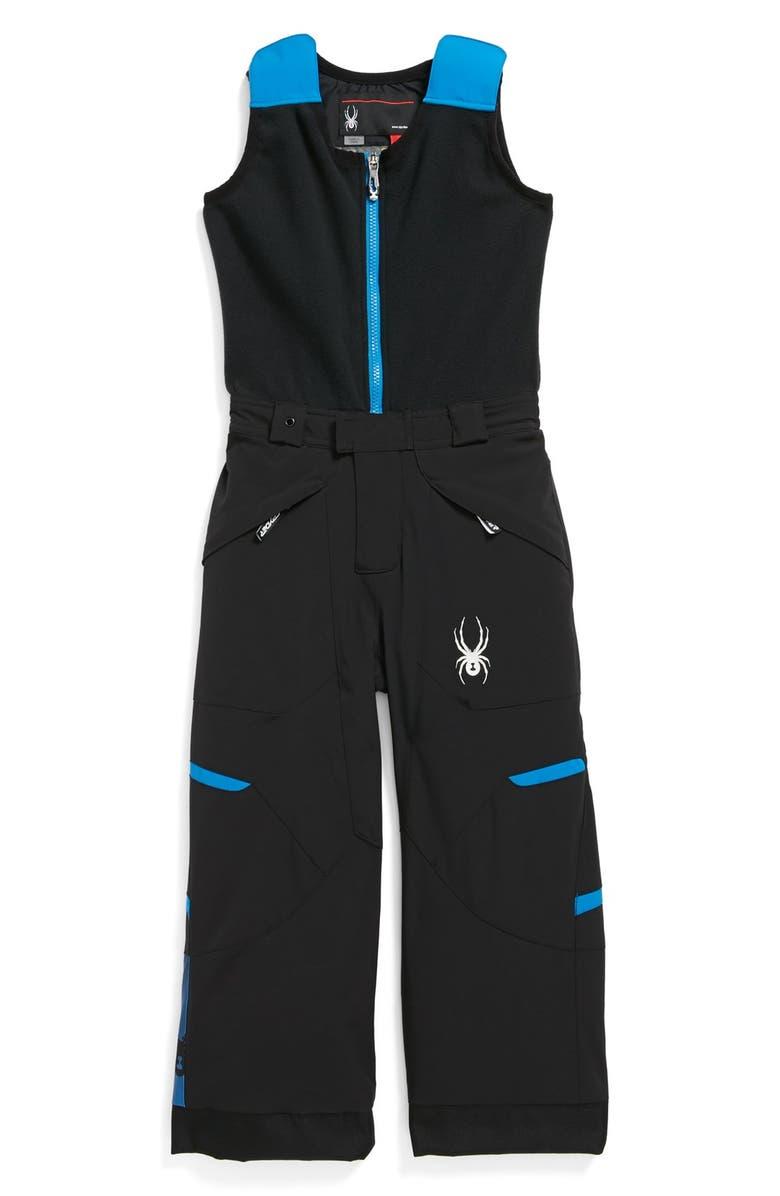 4c154188d SPYDER 'Mini Expedition' Snow Pants with Fleece Vest, Main, color, ...