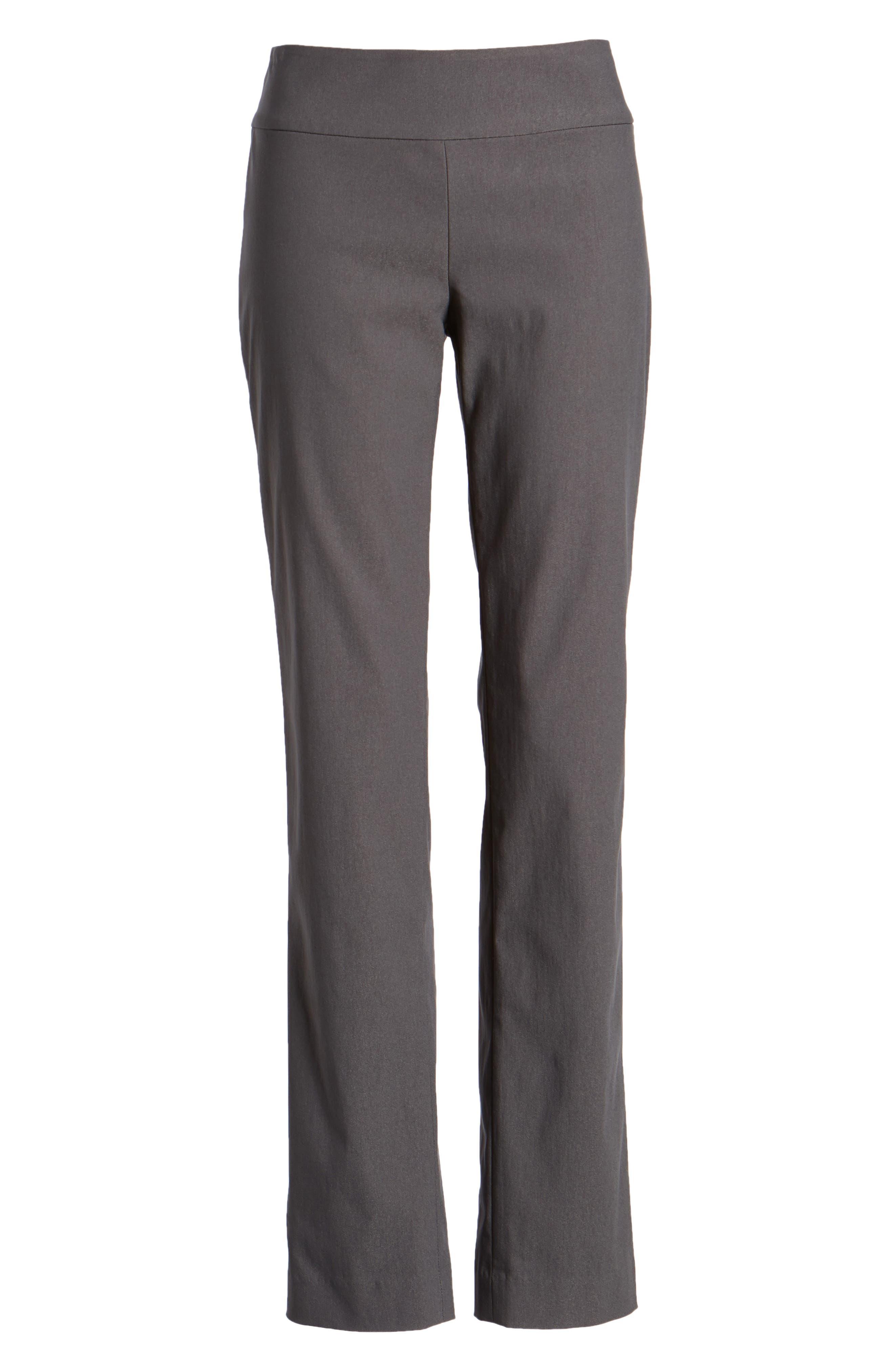 NIC+ZOE, Wonderstretch Slim Leg Pants, Alternate thumbnail 7, color, GRAPHITE