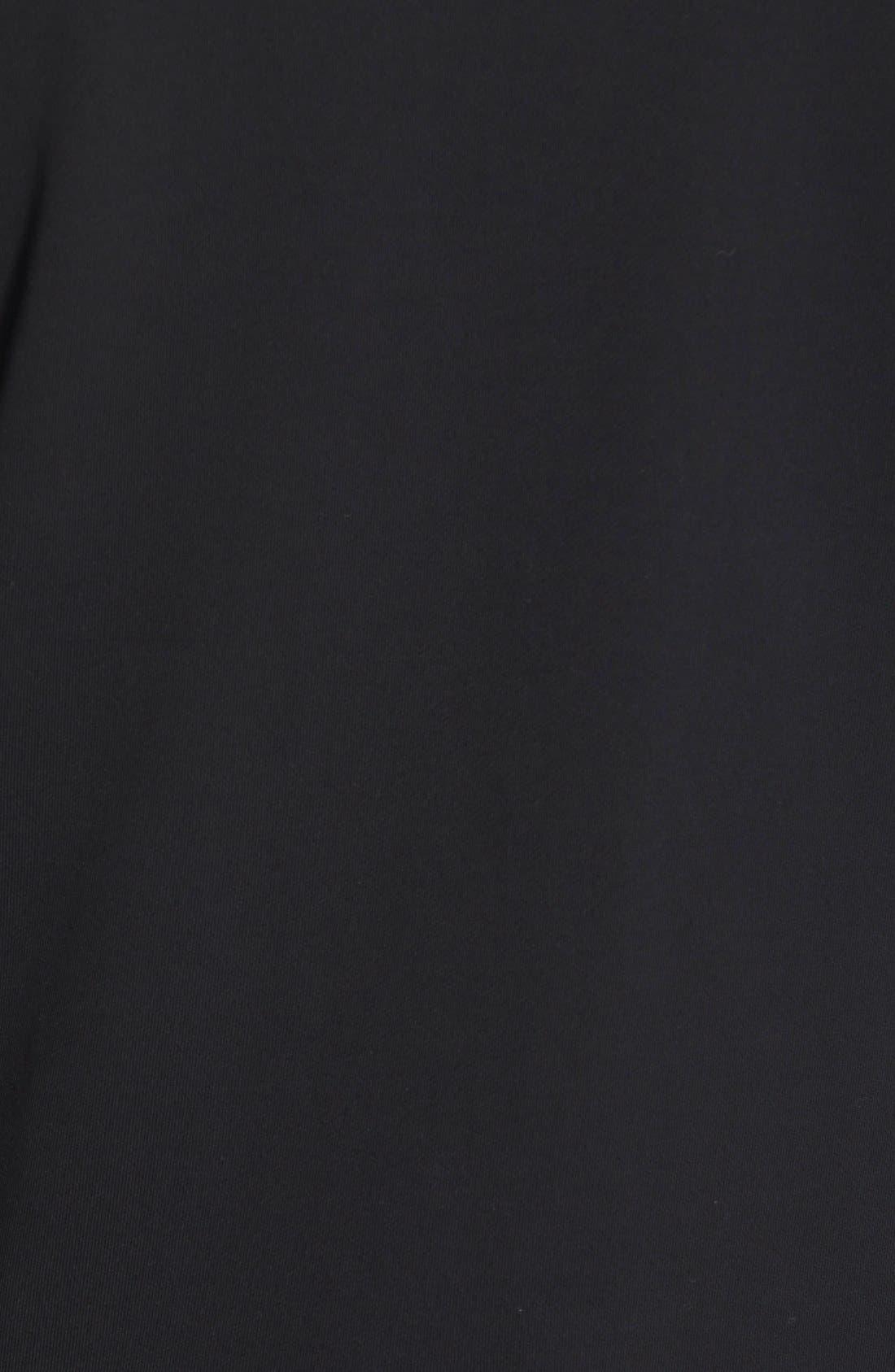 DIESEL<SUP>®</SUP>, 'Mifun' Heavyweight Zip Hoodie, Alternate thumbnail 2, color, 001