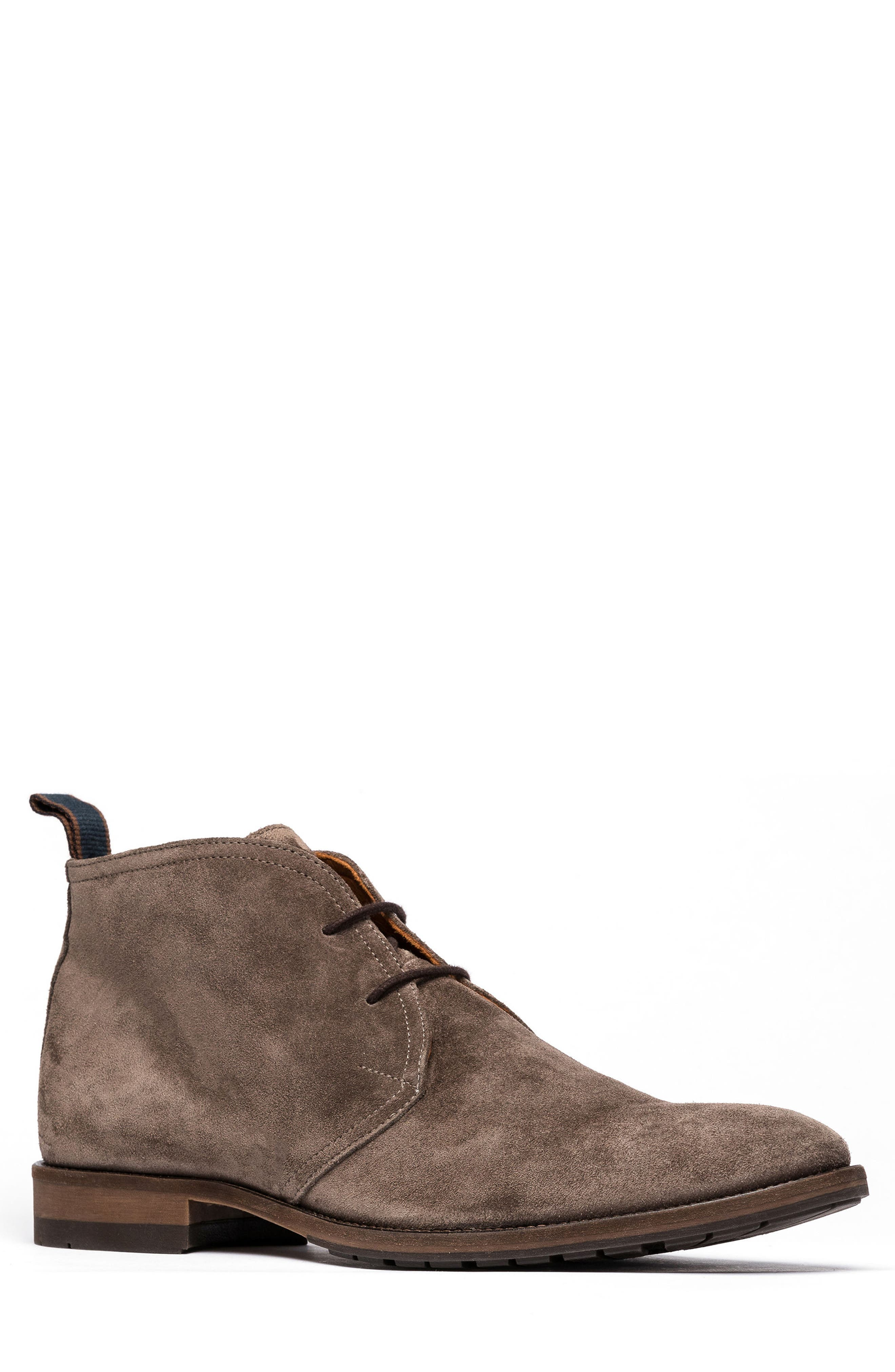 RODD & GUNN Pebbly Hill Chukka Boot, Main, color, TAUPE