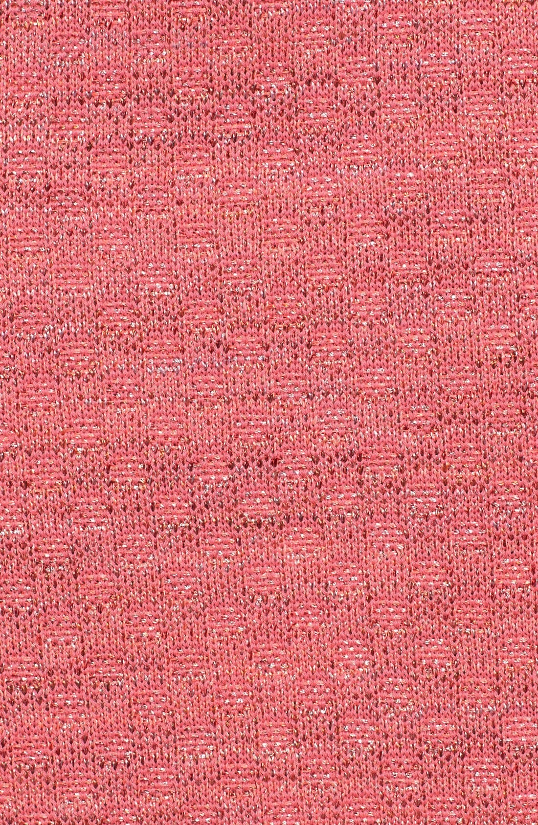ST. JOHN COLLECTION, Damier Knit Pencil Skirt, Alternate thumbnail 5, color, 950