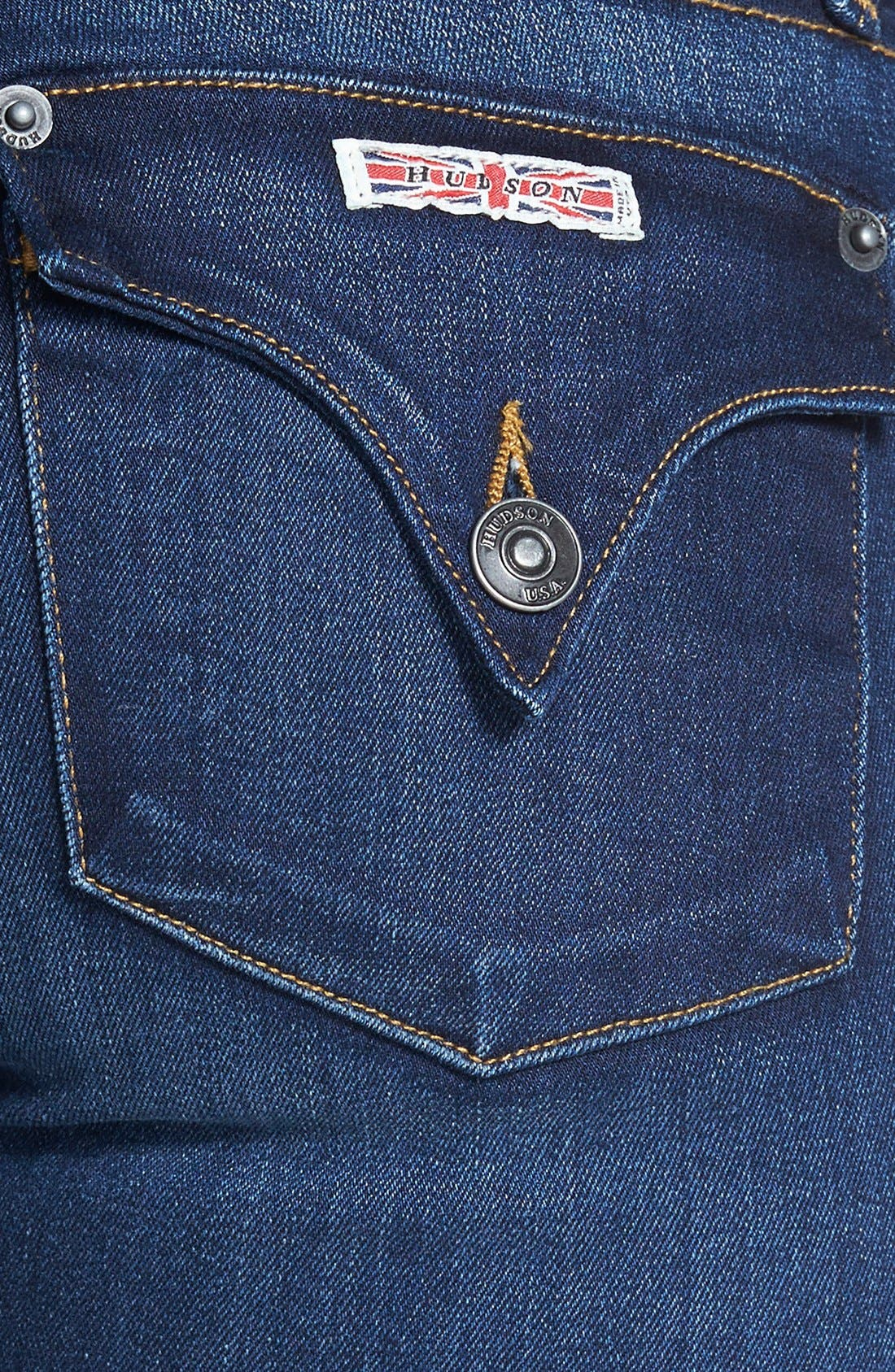 HUDSON JEANS, 'Collin' Supermodel Skinny Jeans, Alternate thumbnail 2, color, 423