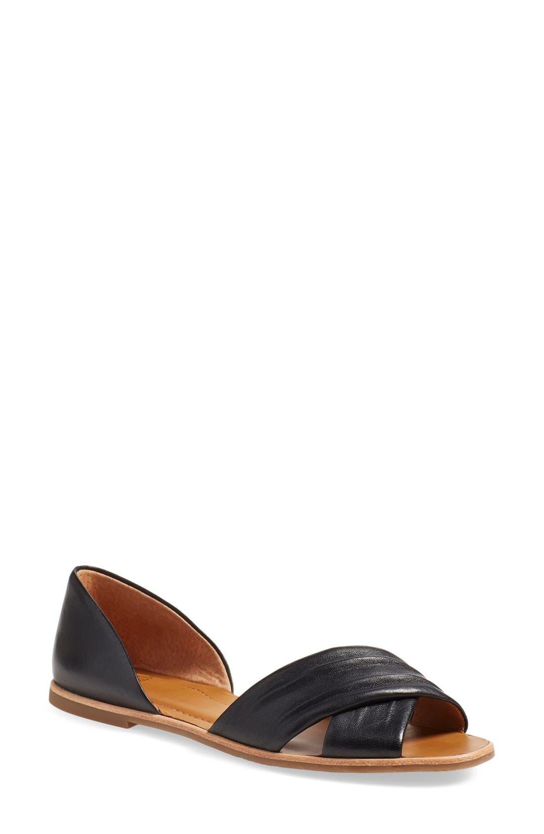 SARTO BY FRANCO SARTO 'Vala' Flat Sandal, Main, color, 001