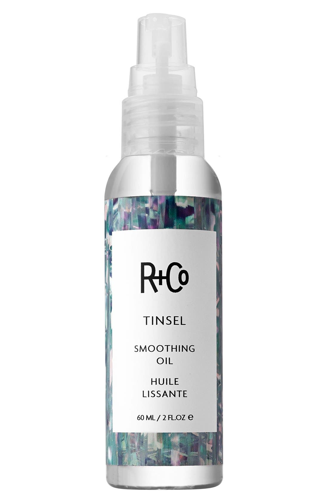 R+CO, SPACE.NK.apothecary R+Co Tinsel Smoothing Oil, Main thumbnail 1, color, NO COLOR
