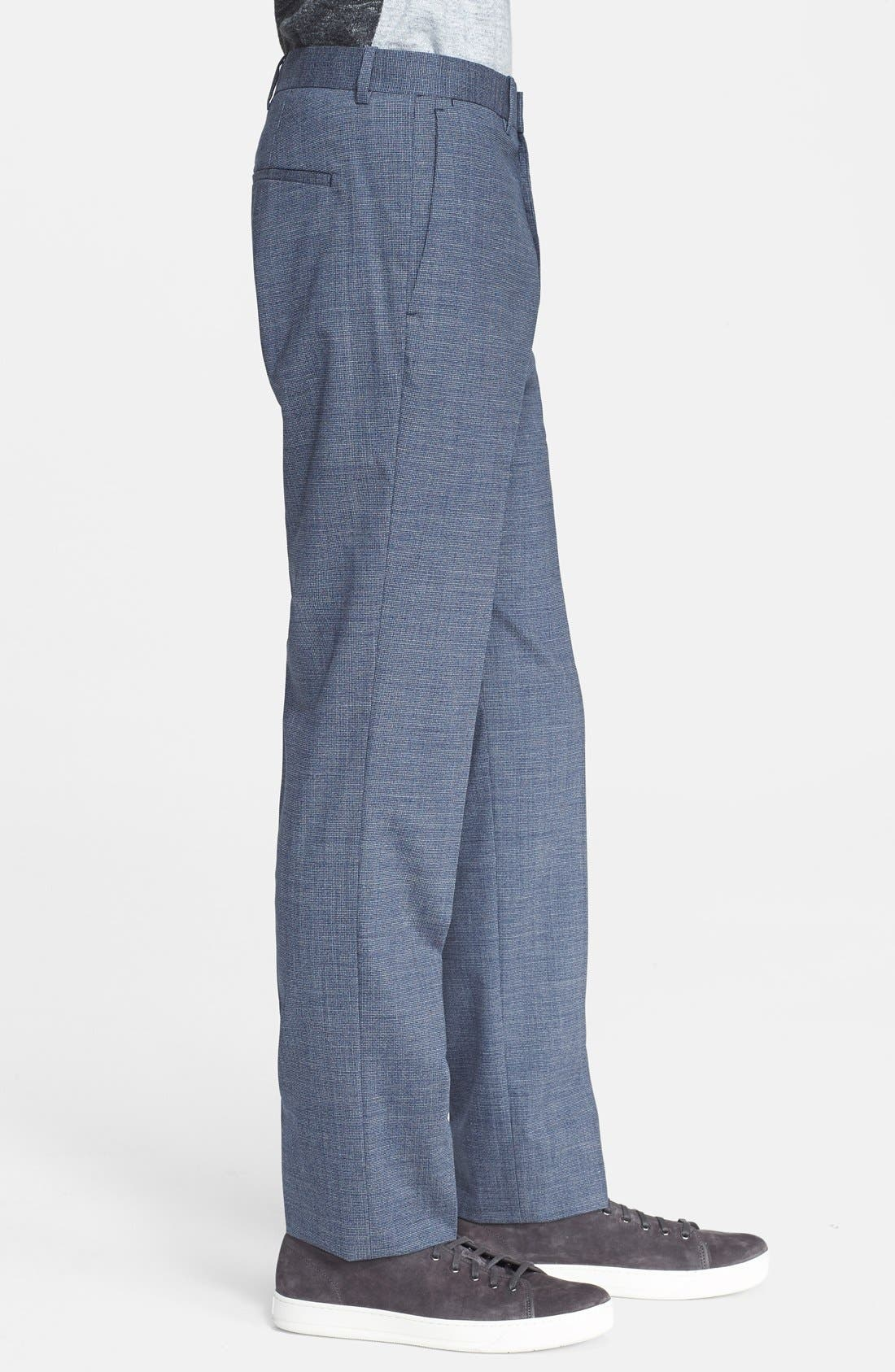 THEORY, 'Jake' Stretch Wool Trousers, Alternate thumbnail 3, color, 462