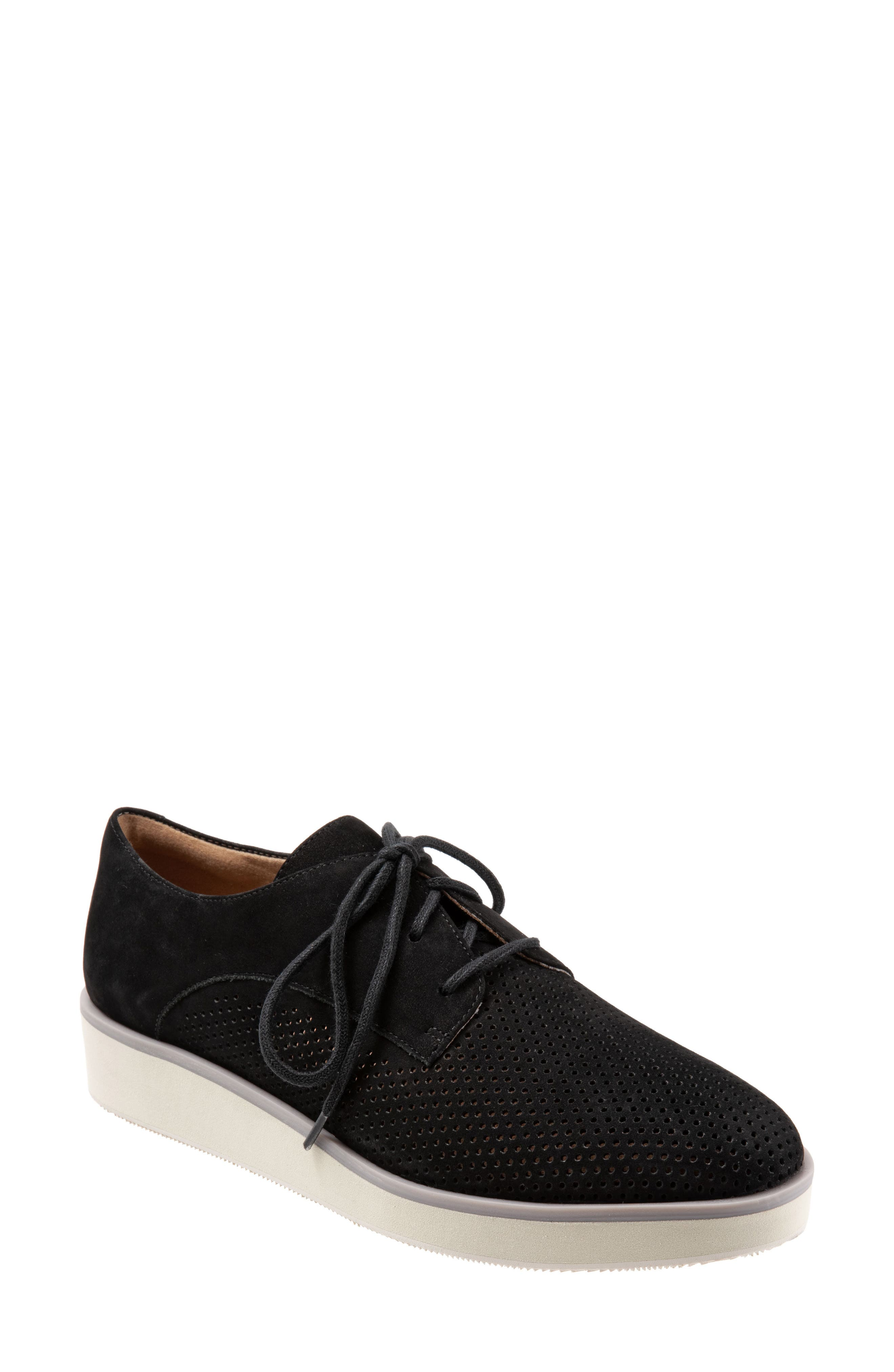 SOFTWALK<SUP>®</SUP>, Willis Derby, Main thumbnail 1, color, ONYX LEATHER