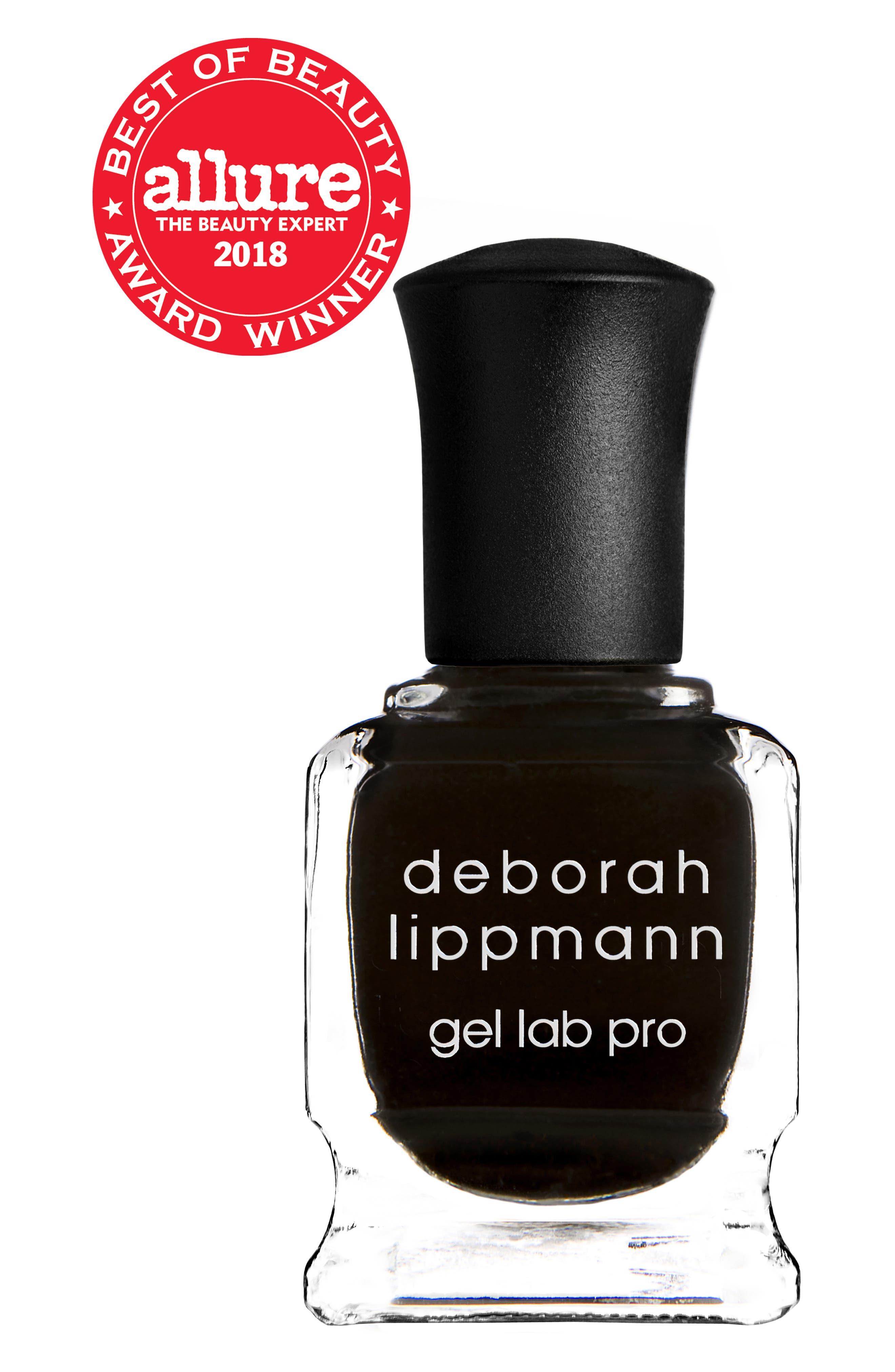 DEBORAH LIPPMANN, Gel Lab Pro Nail Color, Alternate thumbnail 2, color, FADE TO BLACK