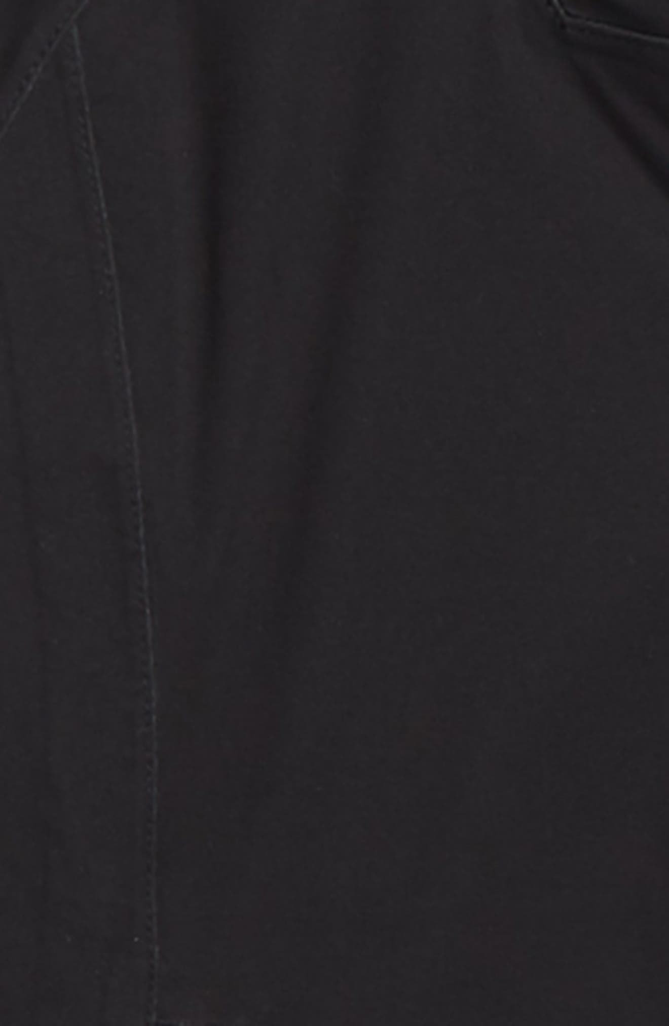 THE NORTH FACE, Allproof Stretch Hooded Rain Jacket, Alternate thumbnail 2, color, 001