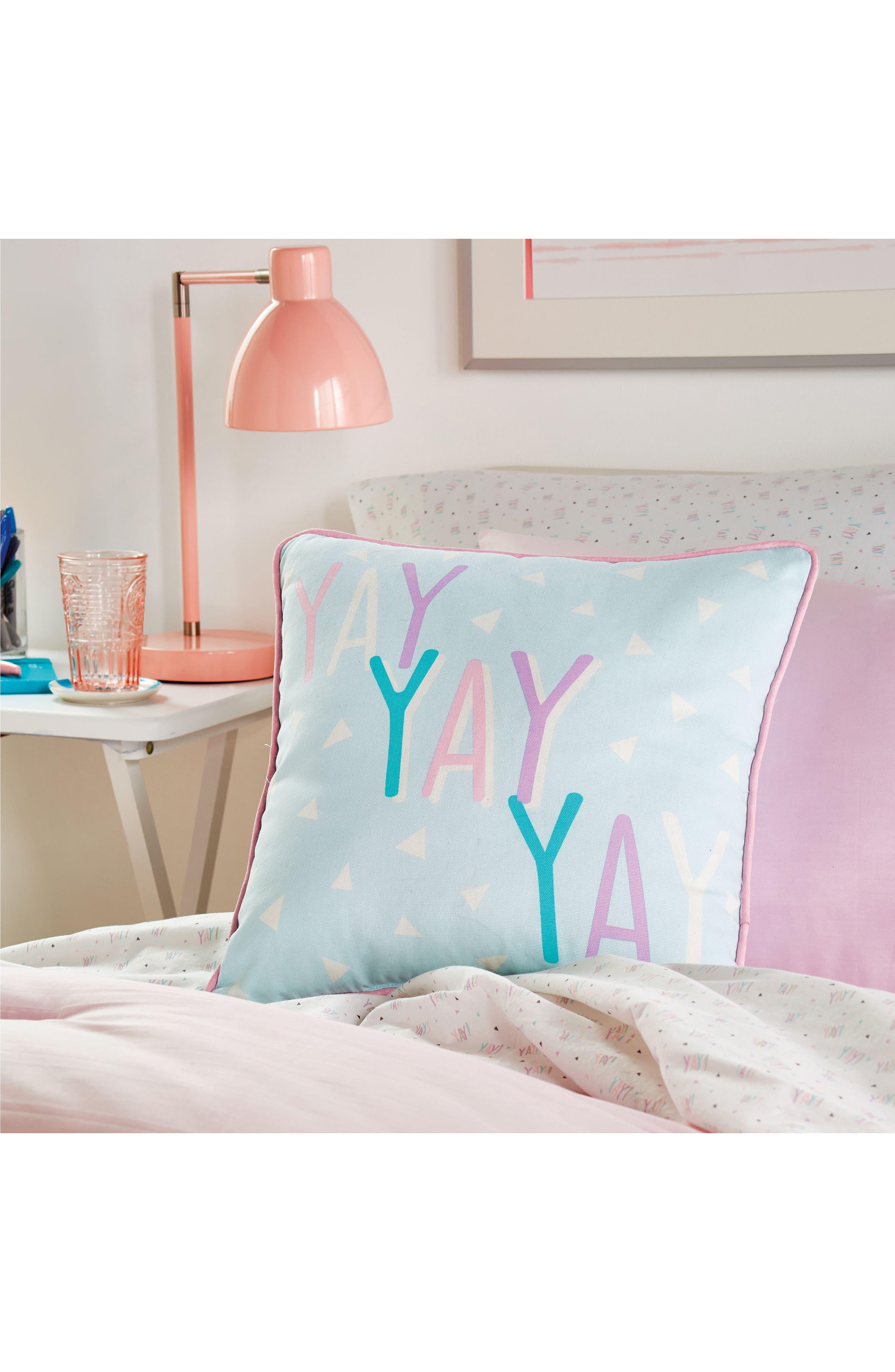 DKNY, Empire Light Comforter, Sham & Accent Pillow Set, Alternate thumbnail 4, color, 675