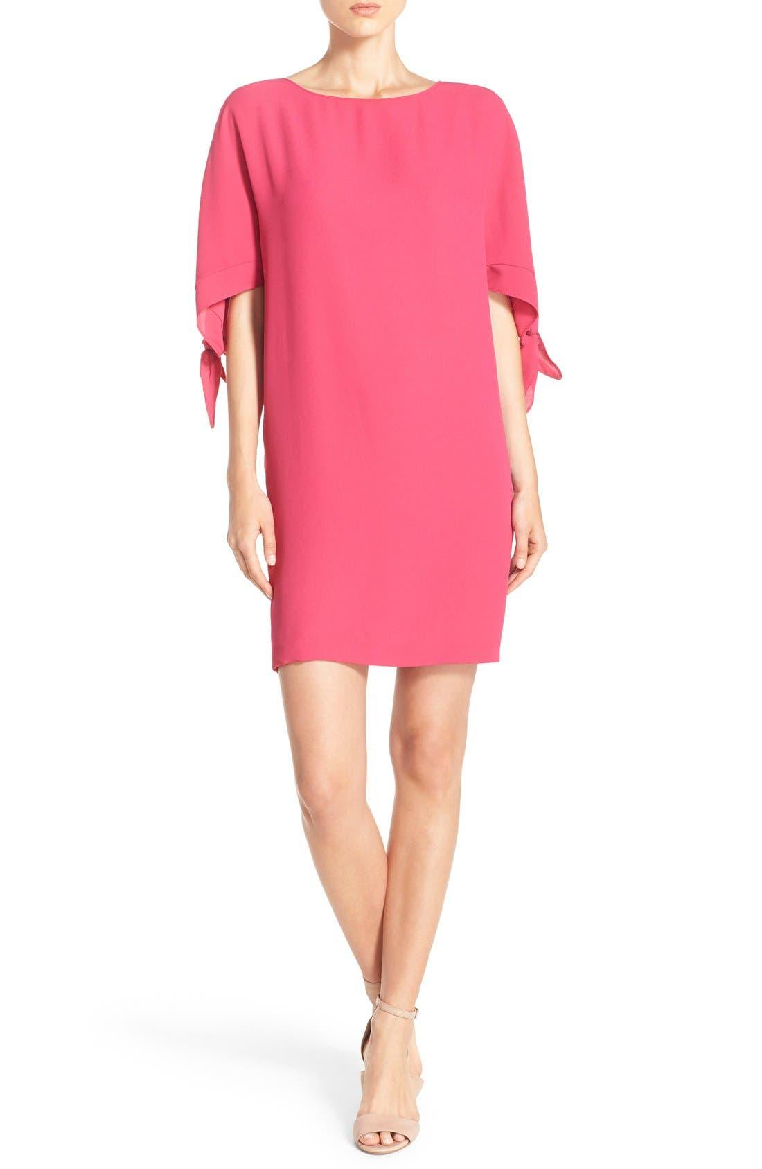 VINCE CAMUTO Cold Shoulder Shift Dress, Main, color, 660