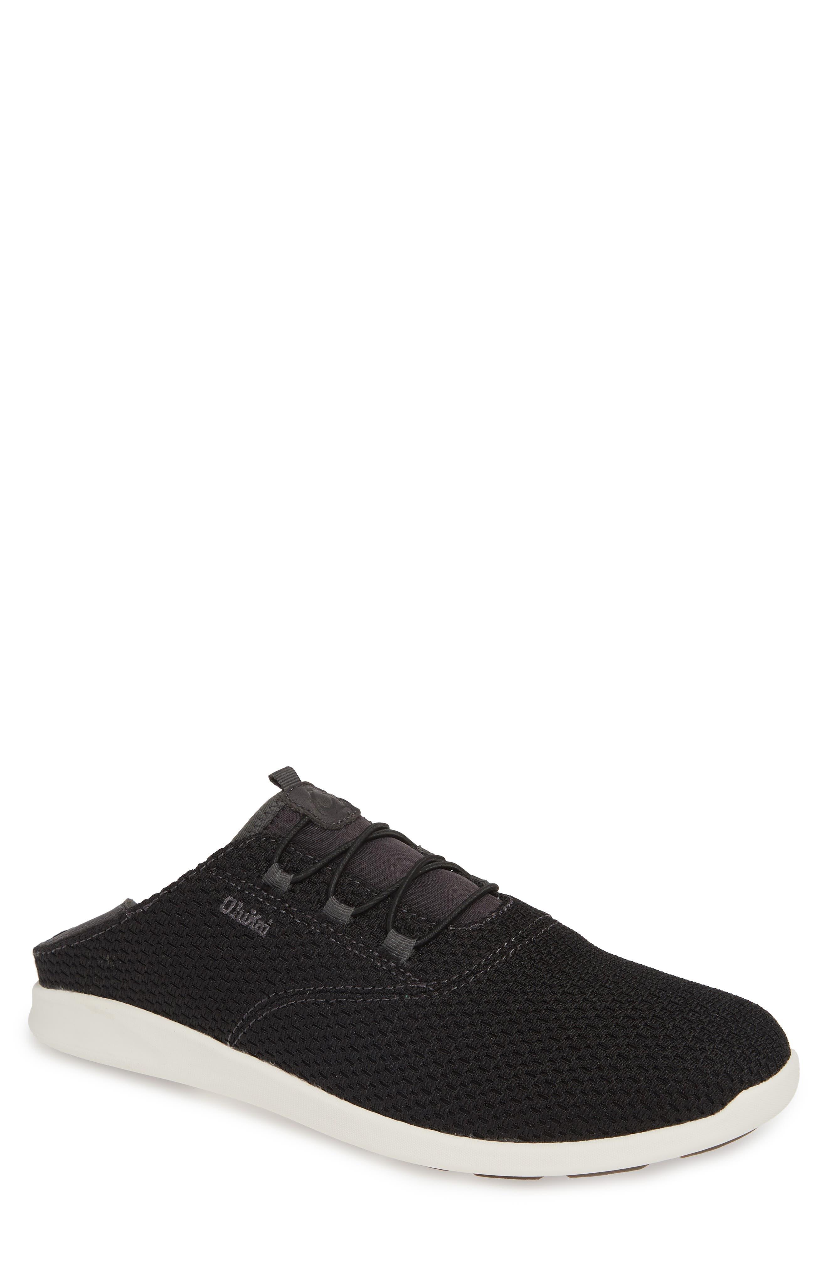OLUKAI Alapa Li Sneaker, Main, color, BLACK/ DARK SHADOW MESH