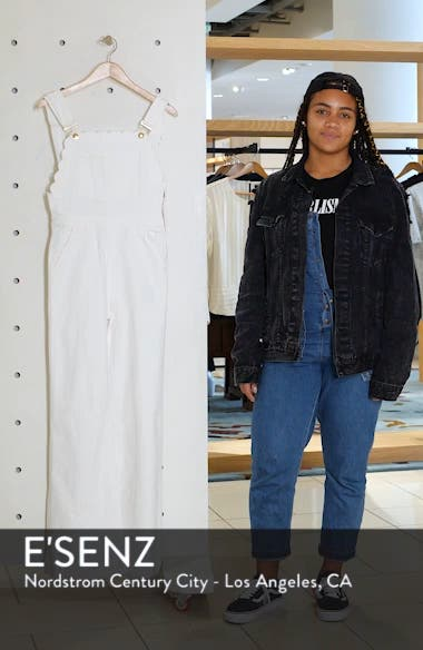 Scalloped Wide Leg Overalls, sales video thumbnail