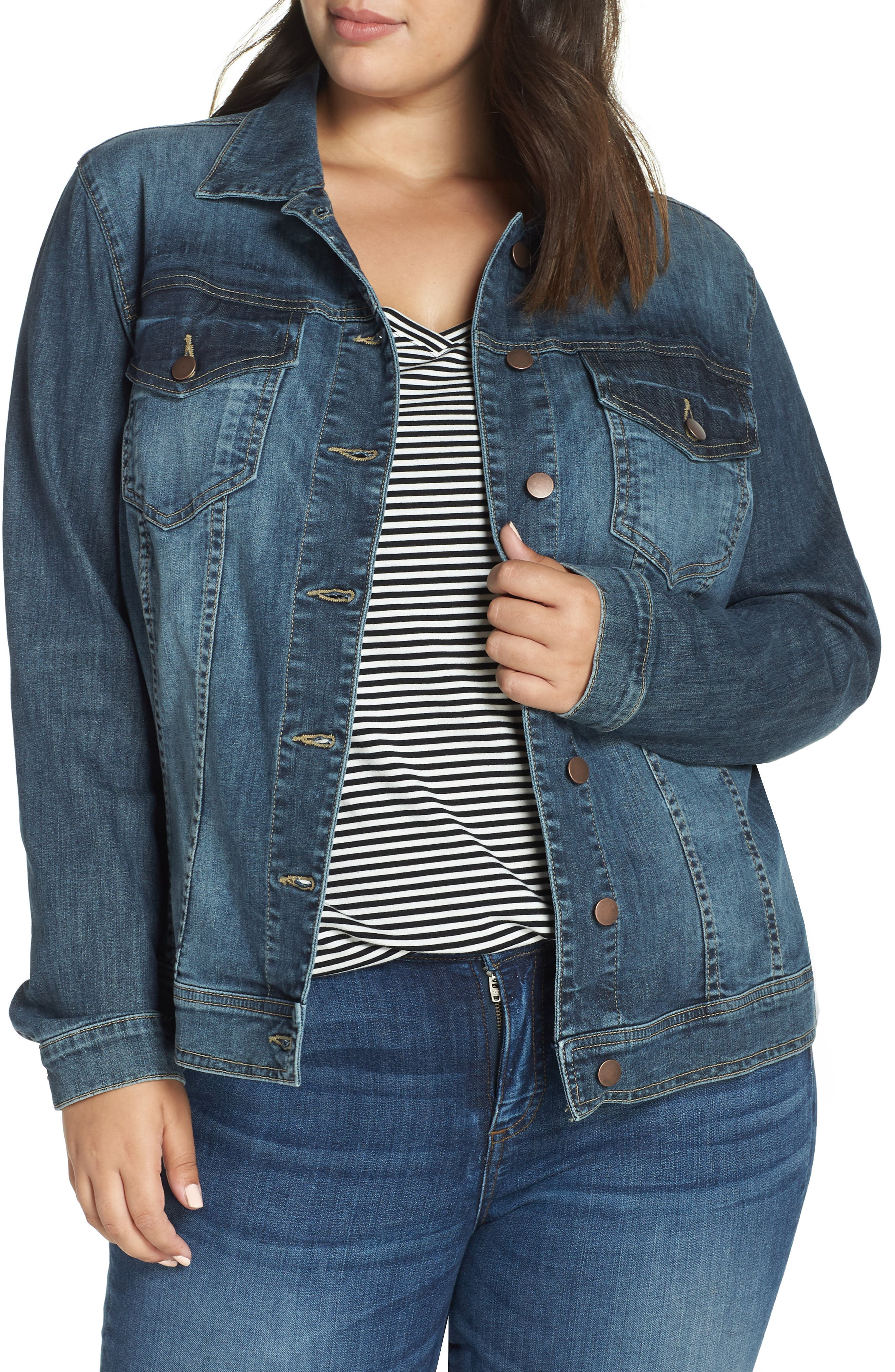 KUT FROM THE KLOTH Helena Jean Jacket, Main, color, LIBERAL