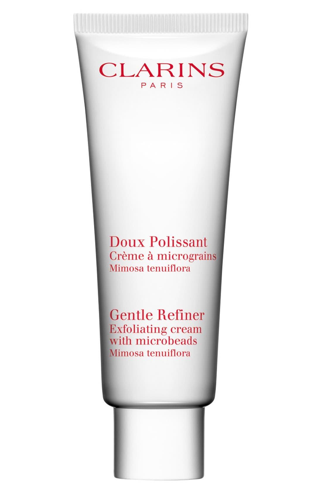 CLARINS Gentle Refiner Exfoliating Cream, Main, color, NO COLOR