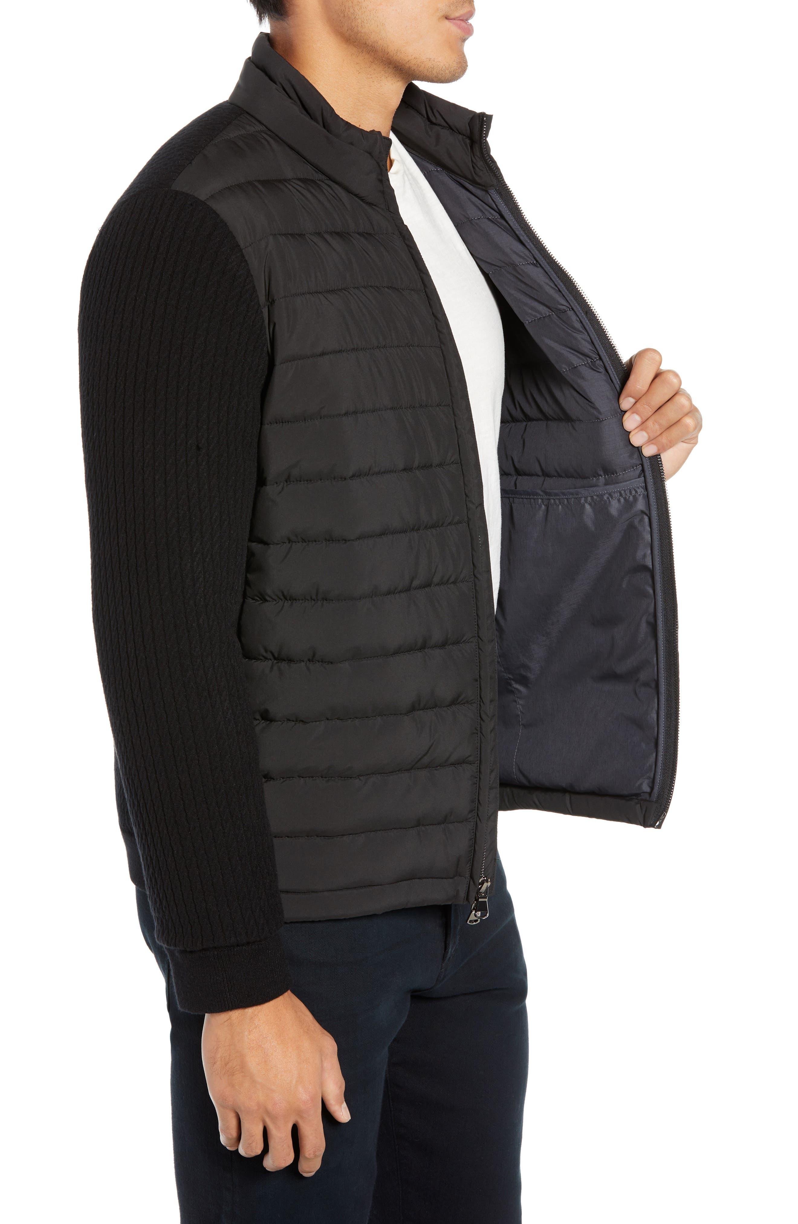 ZACHARY PRELL, Federal Jacket, Alternate thumbnail 4, color, BLACK