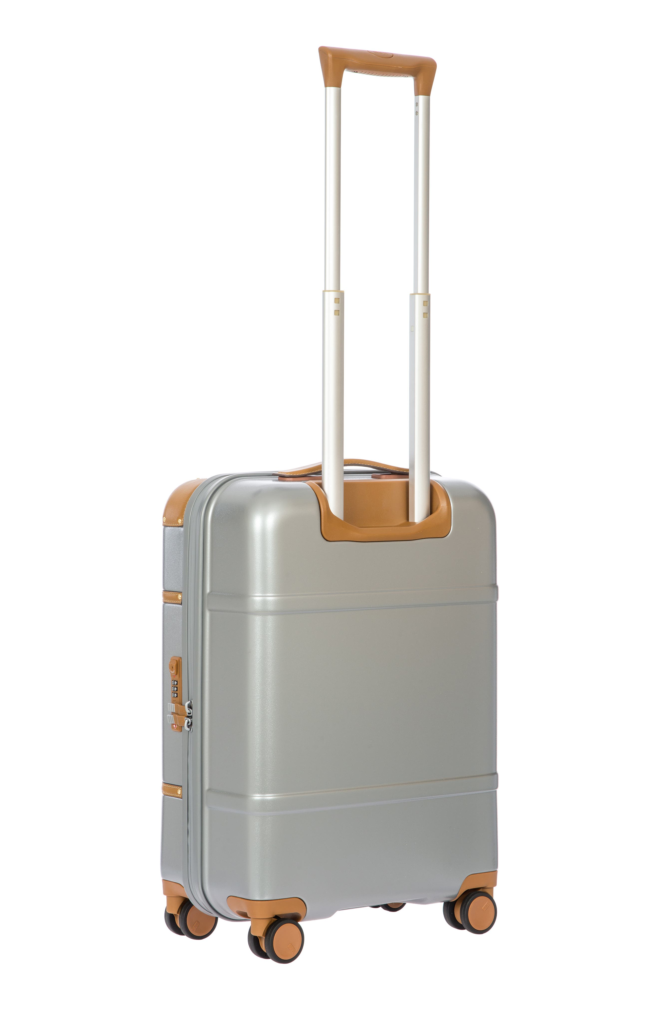 BRIC'S, Bellagio 2.0 21-Inch Rolling Carry-On, Alternate thumbnail 4, color, SILVER