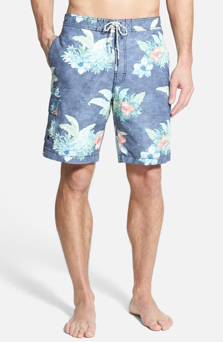951a176a70 TOMMY BAHAMA 'Baja Hibiscus Hukilau' Board Shorts, Main, color, ...