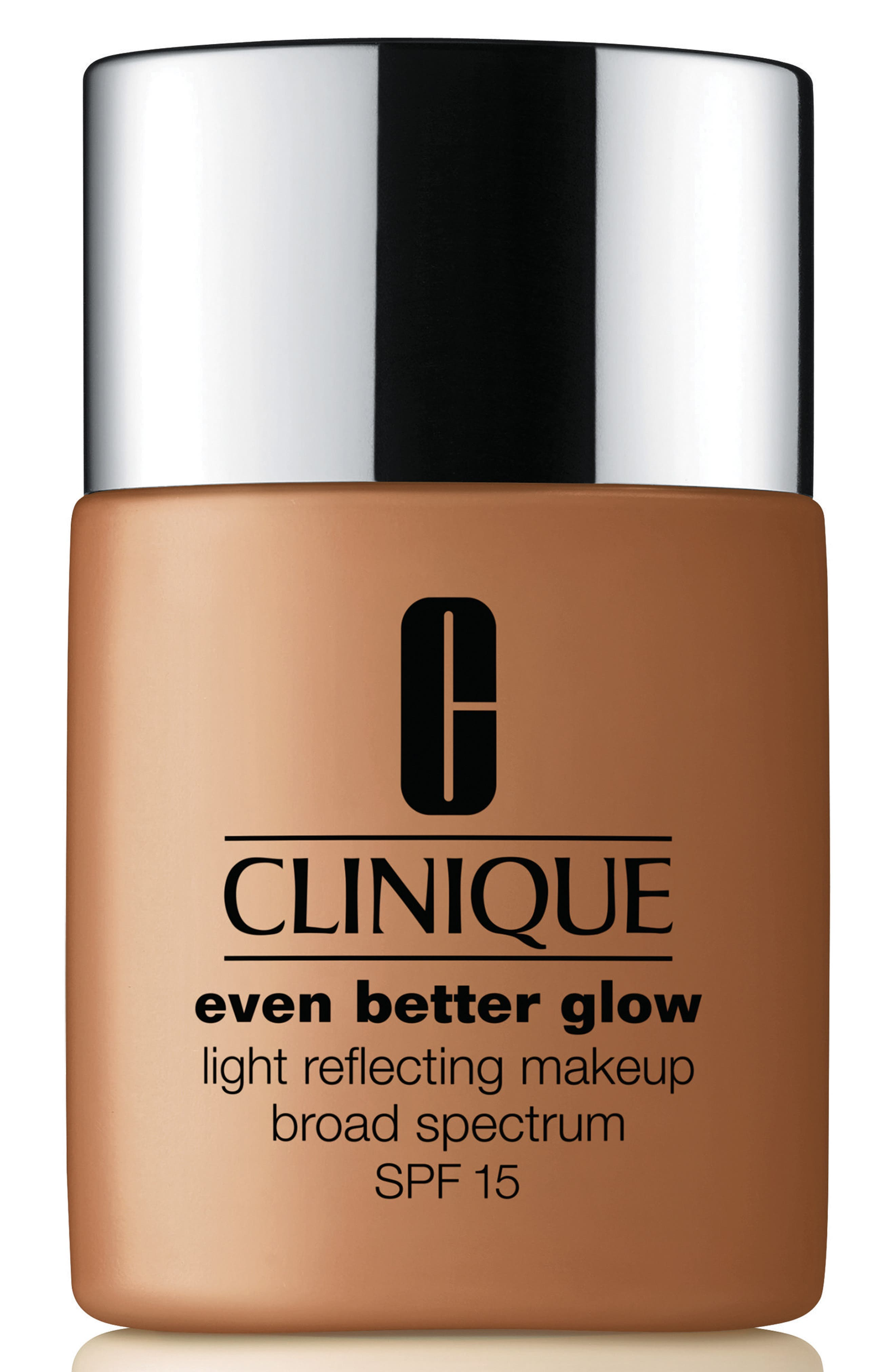 CLINIQUE, Even Better Glow Light Reflecting Makeup Broad Spectrum SPF 15, Main thumbnail 1, color, 118 AMBER