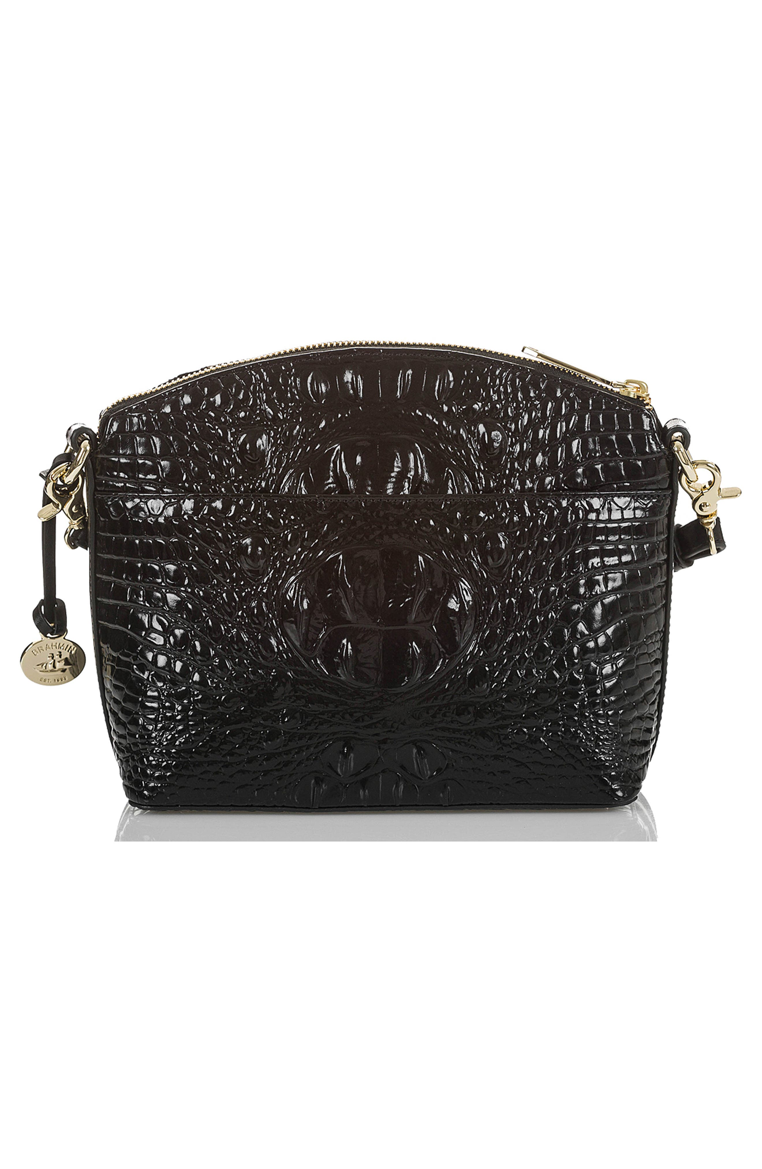 BRAHMIN, Mini Duxbury Embossed Leather Crossbody Bag, Alternate thumbnail 2, color, 028
