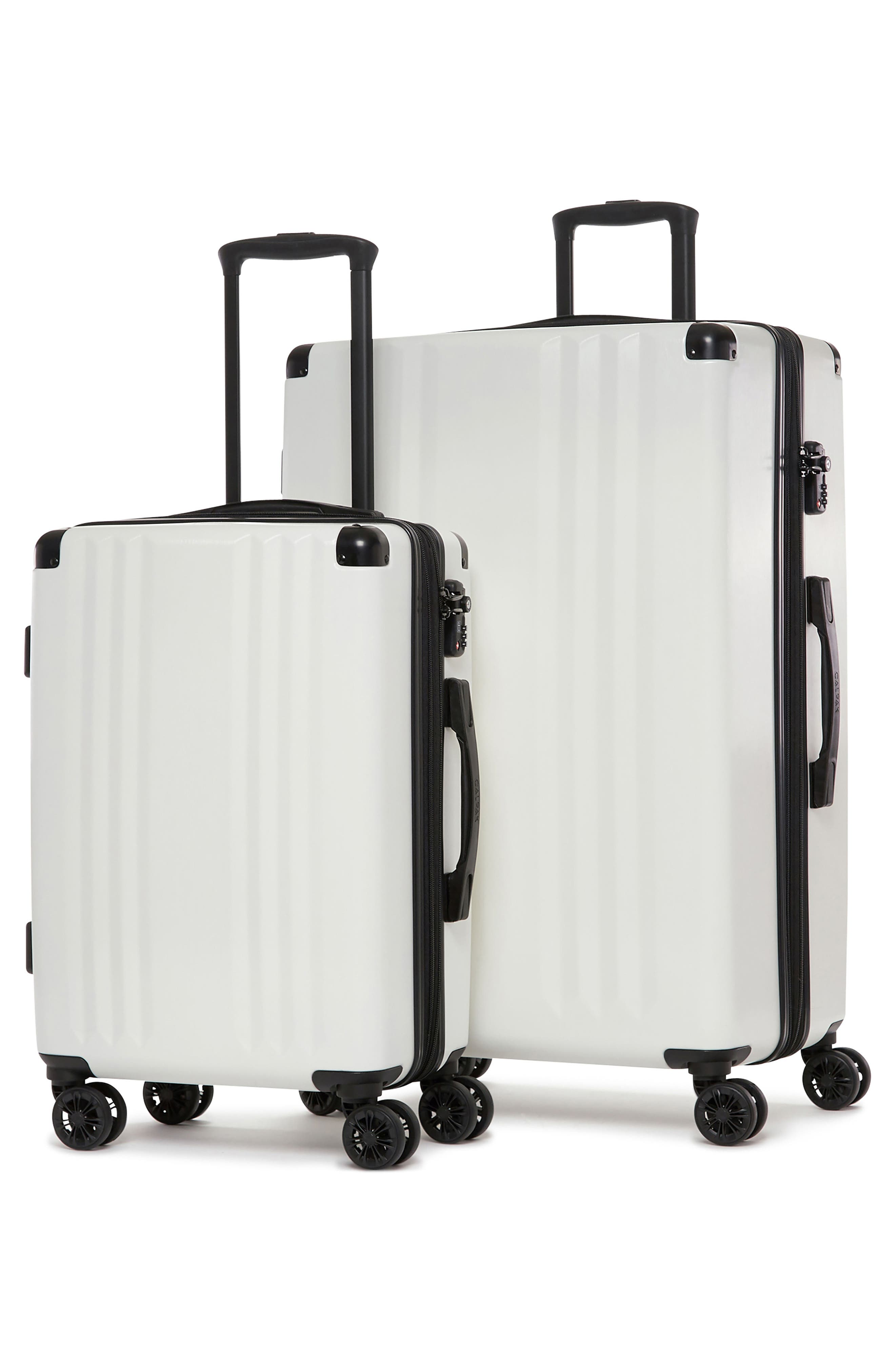 CALPAK, Ambeur 2-Piece Spinner Luggage Set, Alternate thumbnail 2, color, WHITE