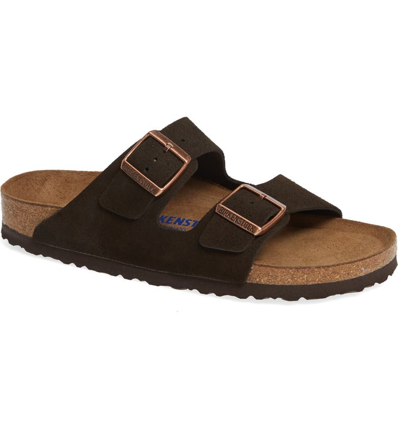 97bc99efb32 Birkenstock  Arizona  Soft Footbed Suede Sandal (Women)
