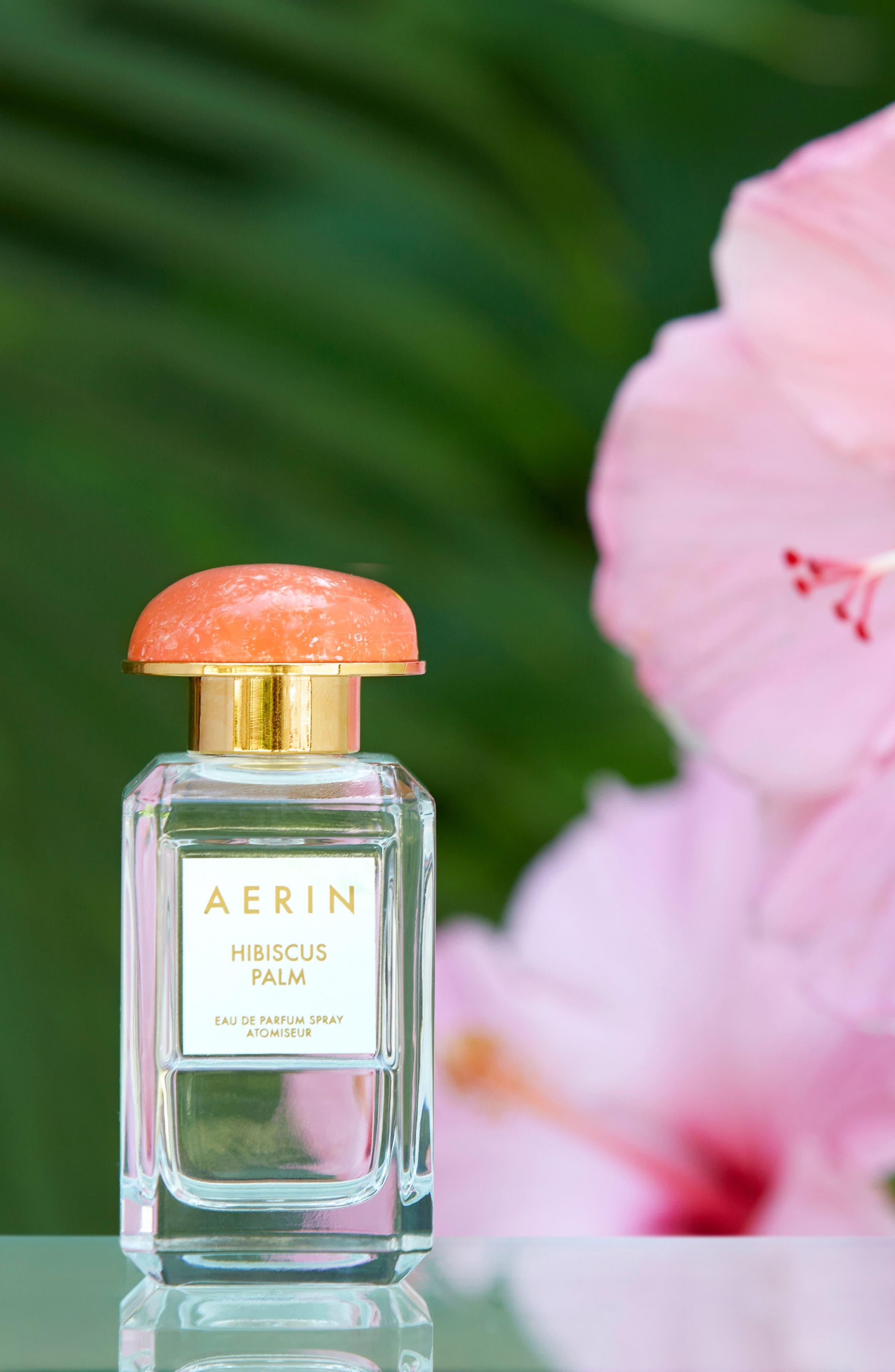 ESTÉE LAUDER, Aerin Beauty Hibiscus Palm Eau de Parfum, Alternate thumbnail 3, color, NO COLOR