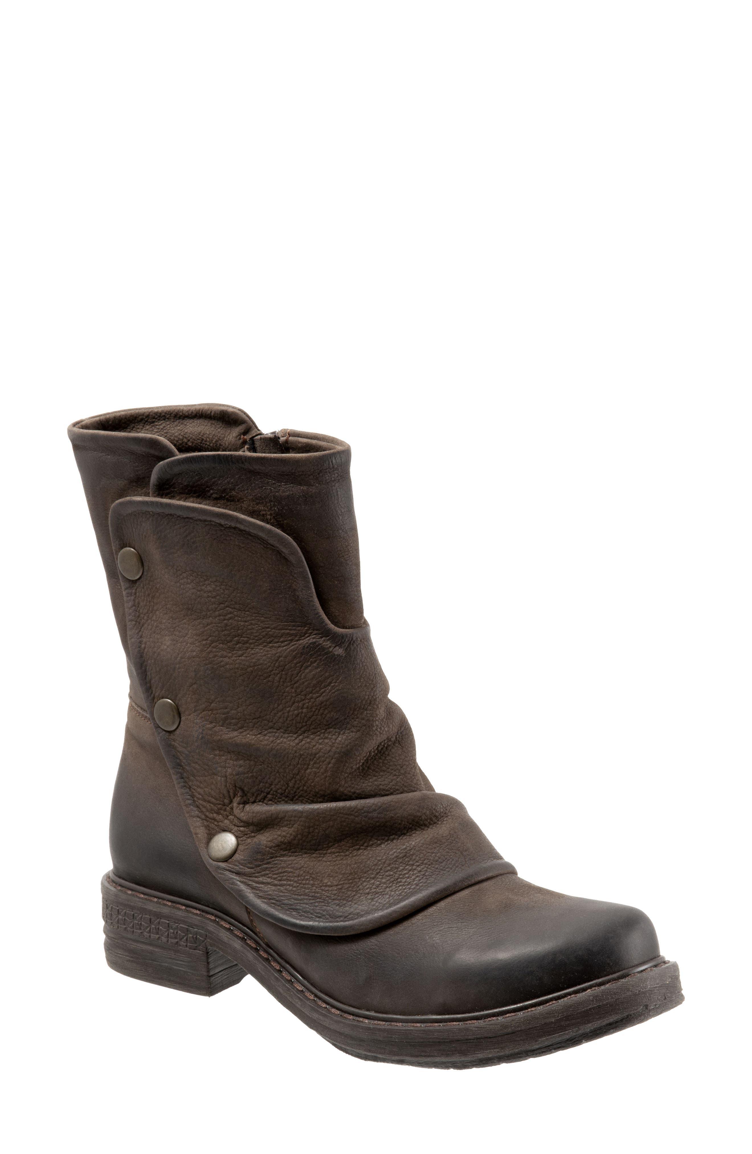 BUENO Greta Boot, Main, color, BROWN NUBUCK