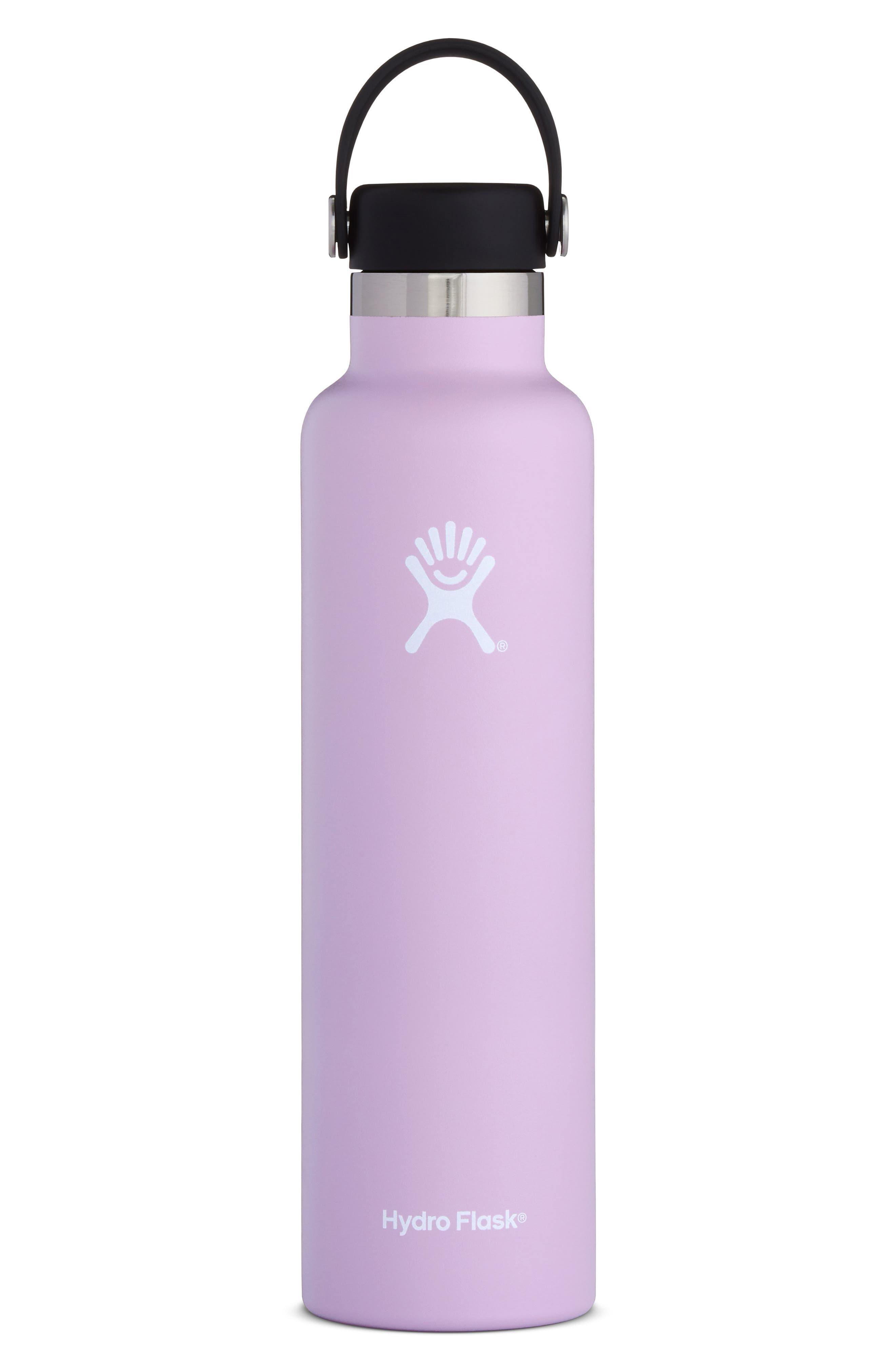 HYDRO FLASK, 24-Ounce Standard Mouth Bottle, Main thumbnail 1, color, LILAC
