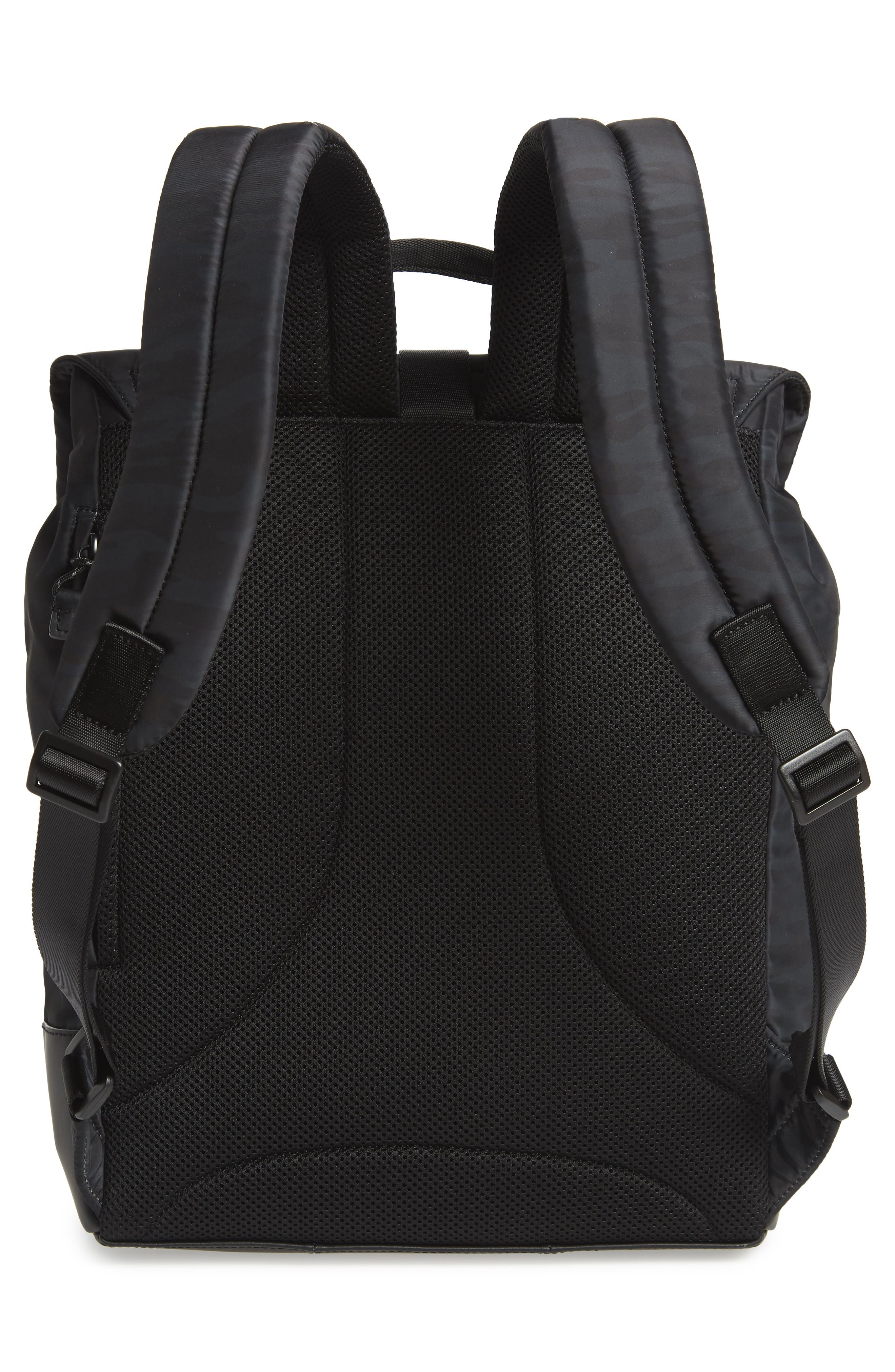 COLE HAAN, Sawyer Laptop Backpack, Alternate thumbnail 3, color, CAMO