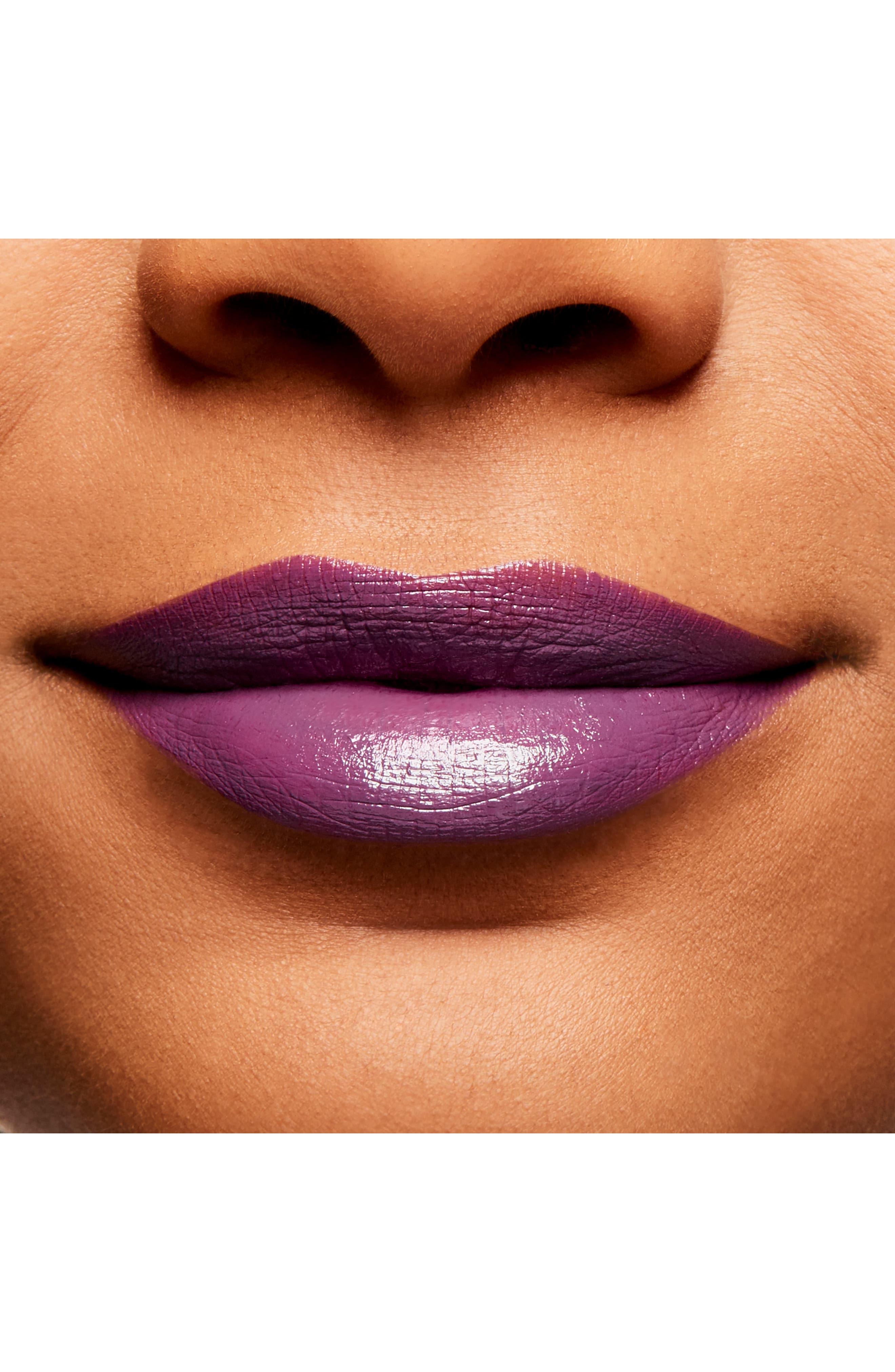 MAC COSMETICS, MAC Throwbacks Lipstick, Alternate thumbnail 3, color, EPIC
