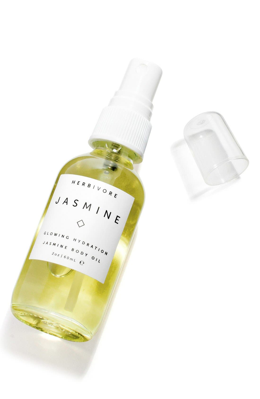 HERBIVORE BOTANICALS, Jasmine Body Oil, Alternate thumbnail 3, color, NO COLOR