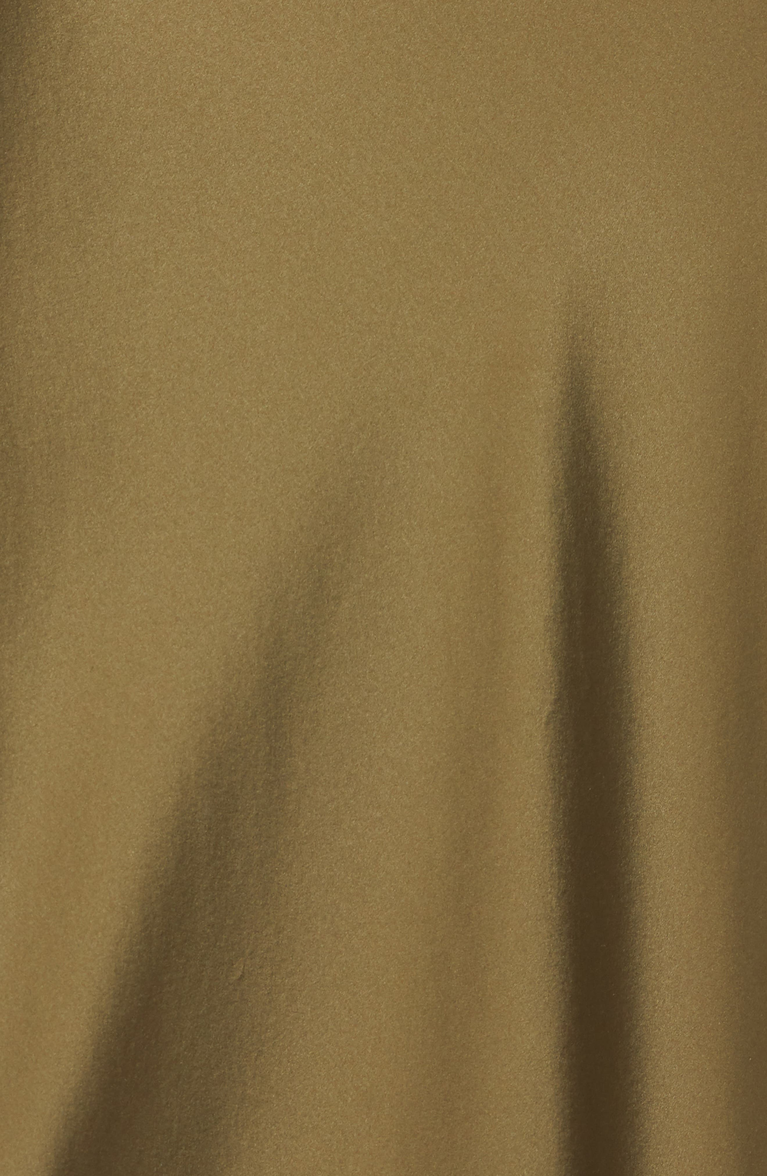 NILI LOTAN, Silk Camisole Gown, Alternate thumbnail 6, color, OLIVE
