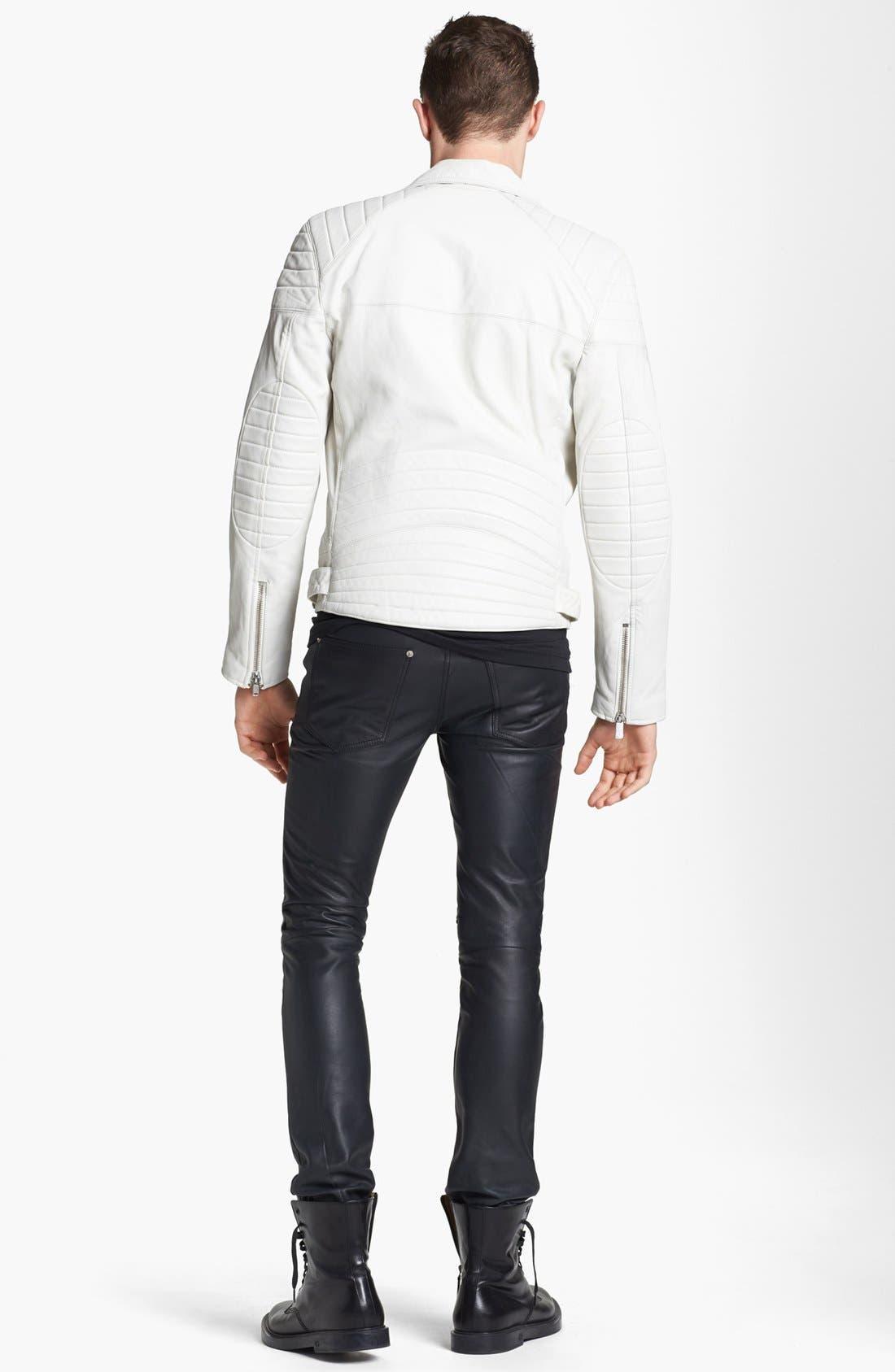 BLK DNM, 'T-Shirt 3' Pima Cotton T-Shirt, Alternate thumbnail 2, color, 001