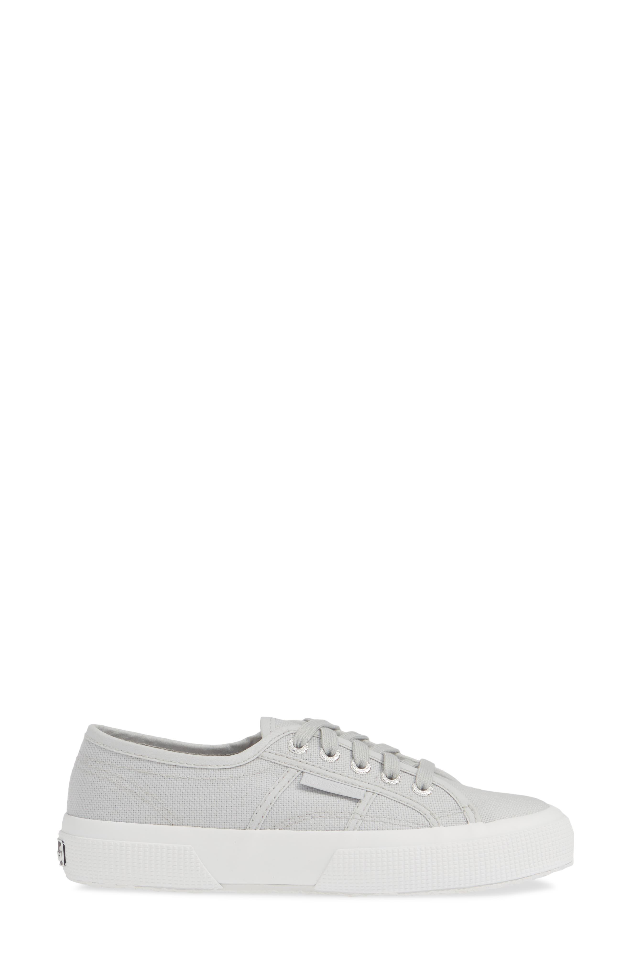 SUPERGA, 'Cotu' Sneaker, Alternate thumbnail 3, color, BEIGE DOUBLE CREAM