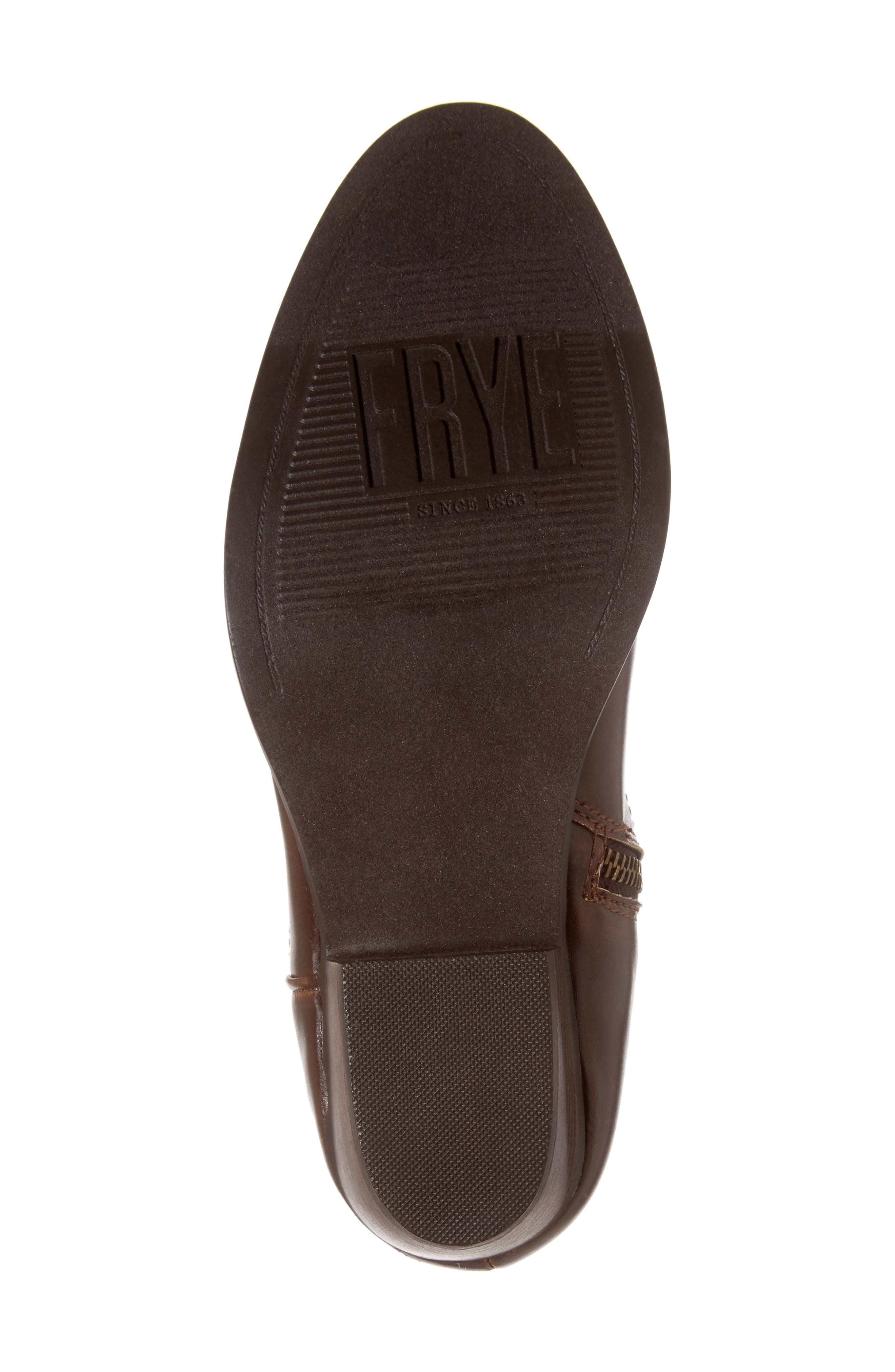 FRYE, Carson Firebird Cowgirl Boot, Alternate thumbnail 6, color, BROWN