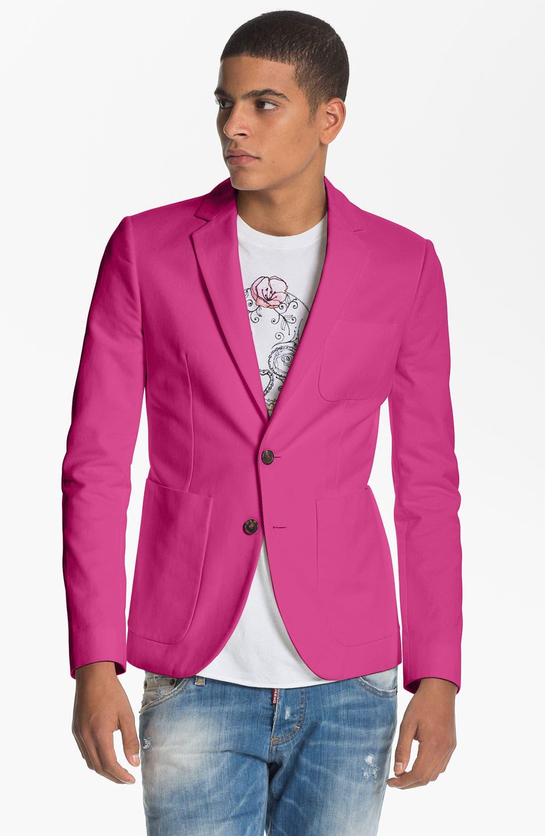 DSQUARED2 Summer Blazer, Main, color, 651