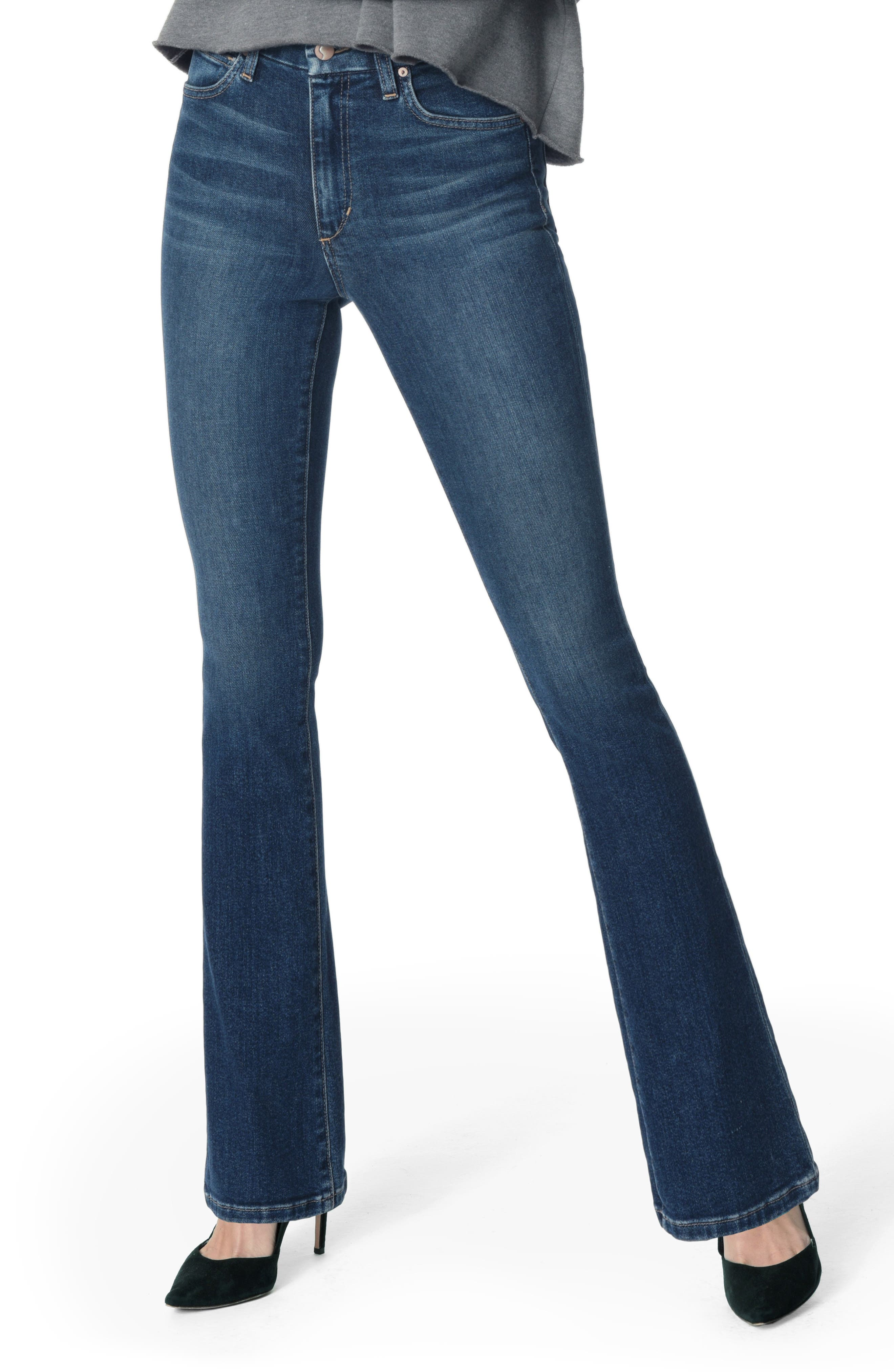 JOE'S Honey Curvy High Waist Bootcut Jeans, Main, color, 420