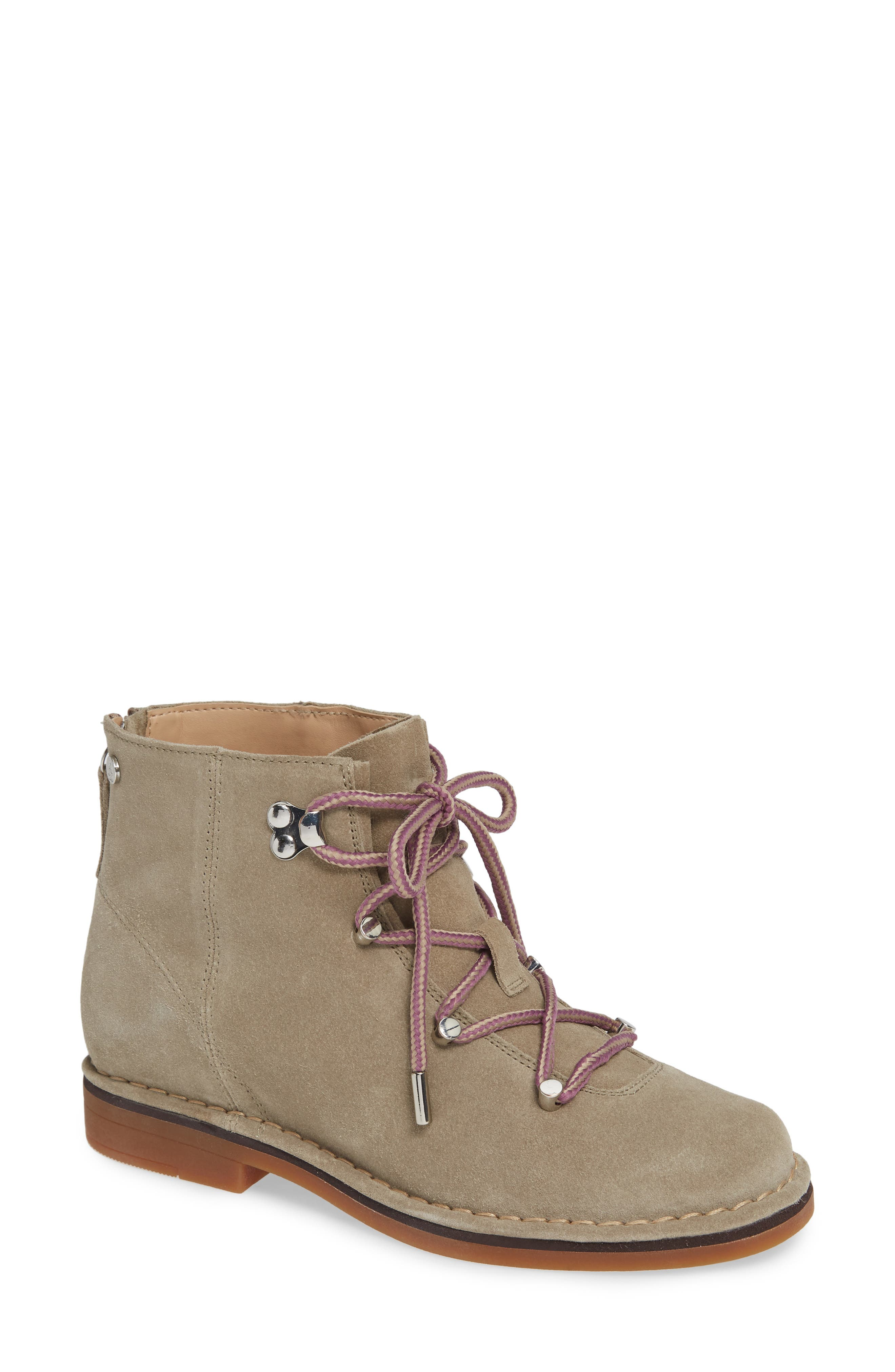 Hush Puppies Catelyn Hiker Bootie- Beige