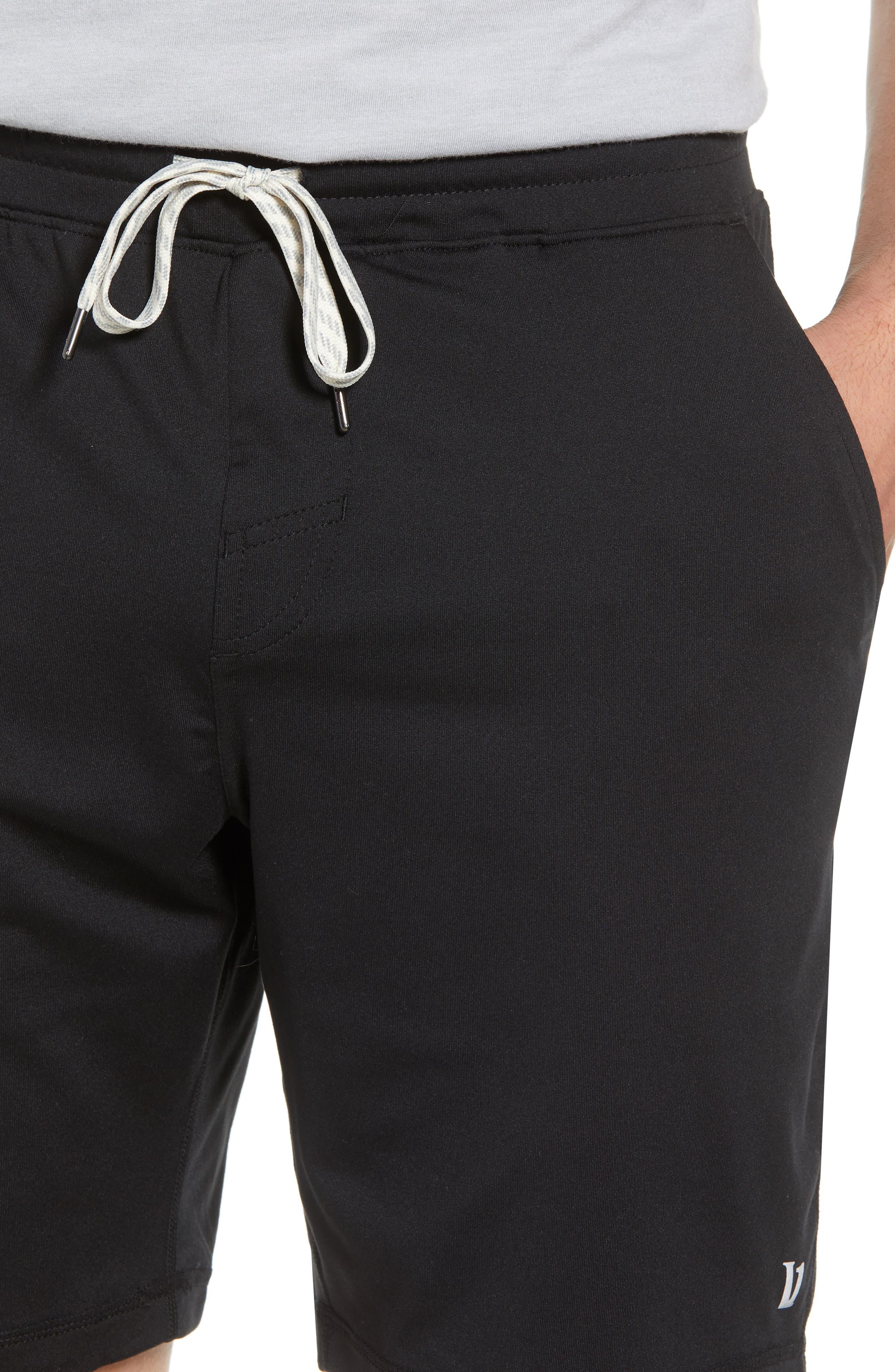 VUORI, Ponto Shorts, Alternate thumbnail 4, color, BLACK